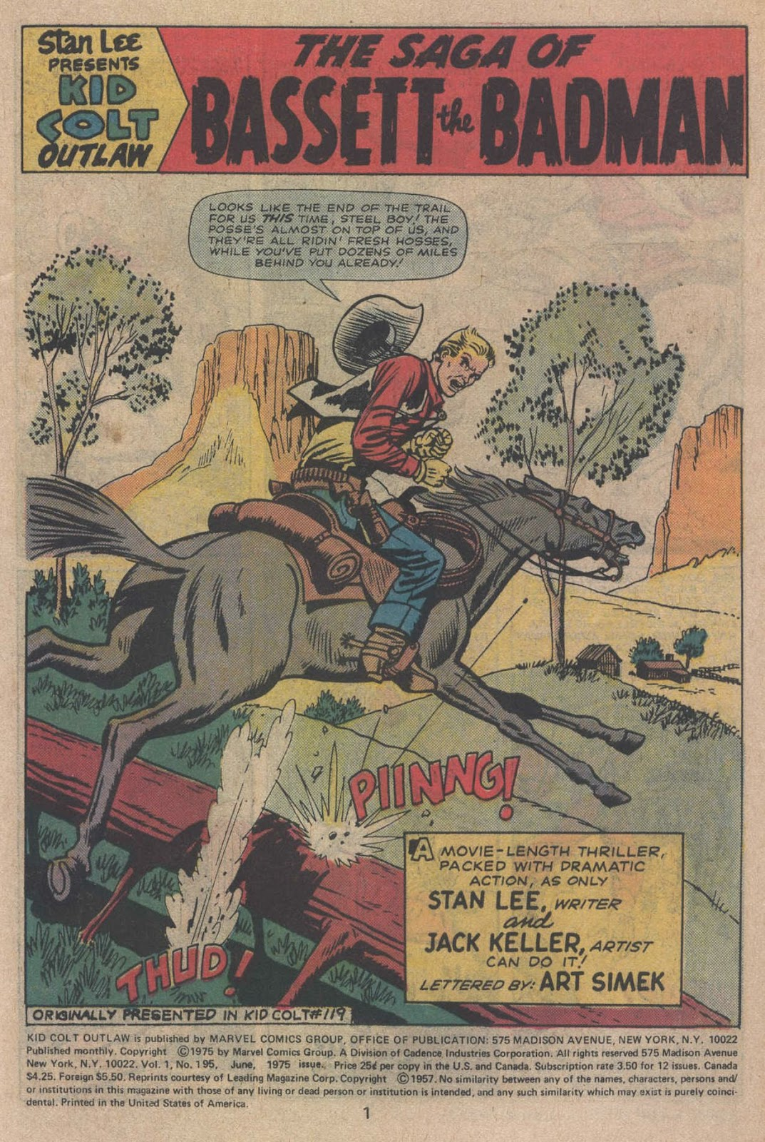 Kid Colt Outlaw issue 195 - Page 3