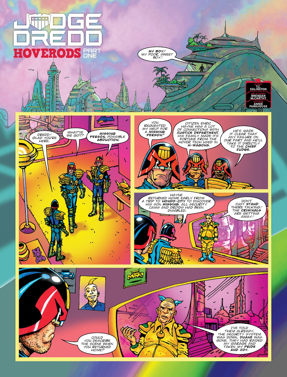 Read online 2000 AD comic -  Issue #2033 - 3