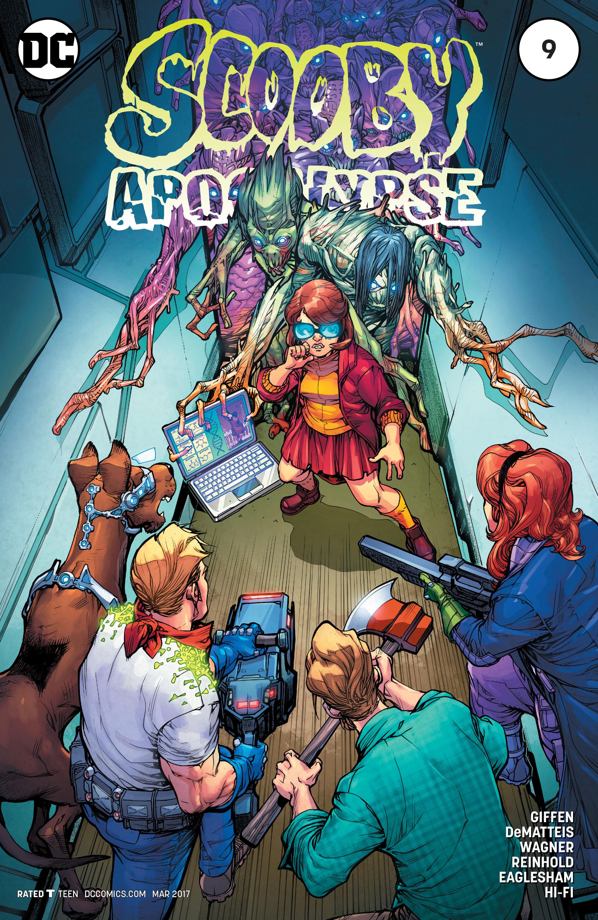 Read online Scooby Apocalypse comic -  Issue #9 - 1