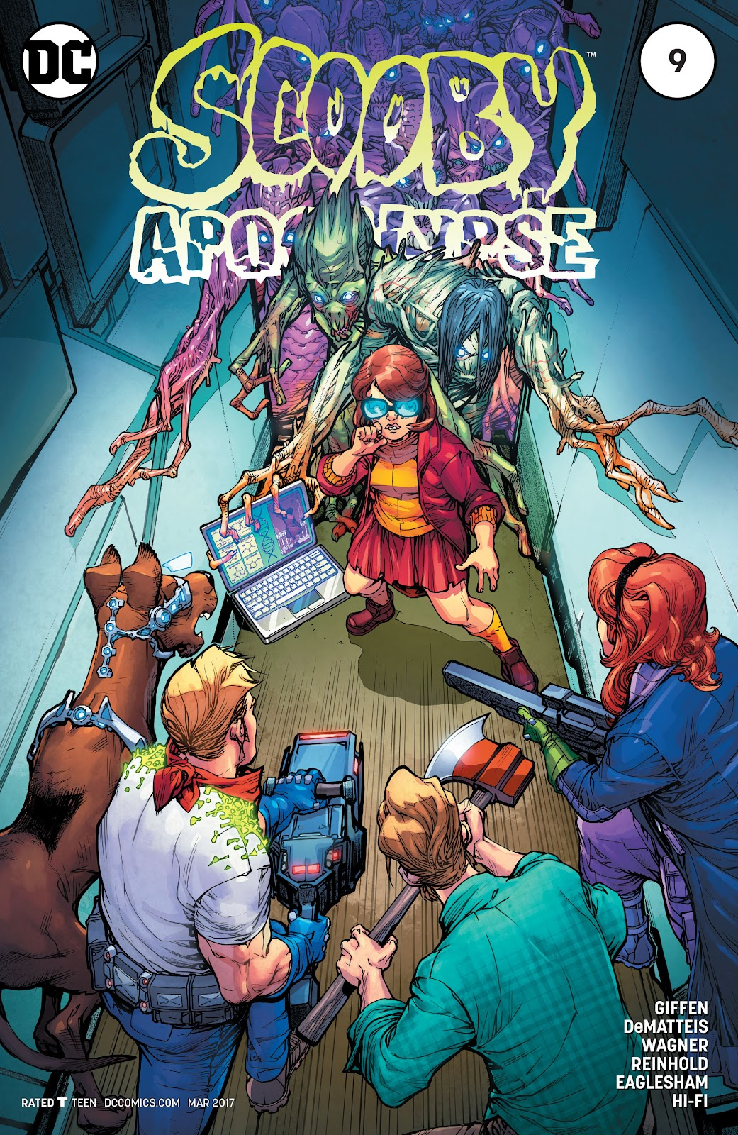 Scooby Apocalypse issue 9 - Page 1