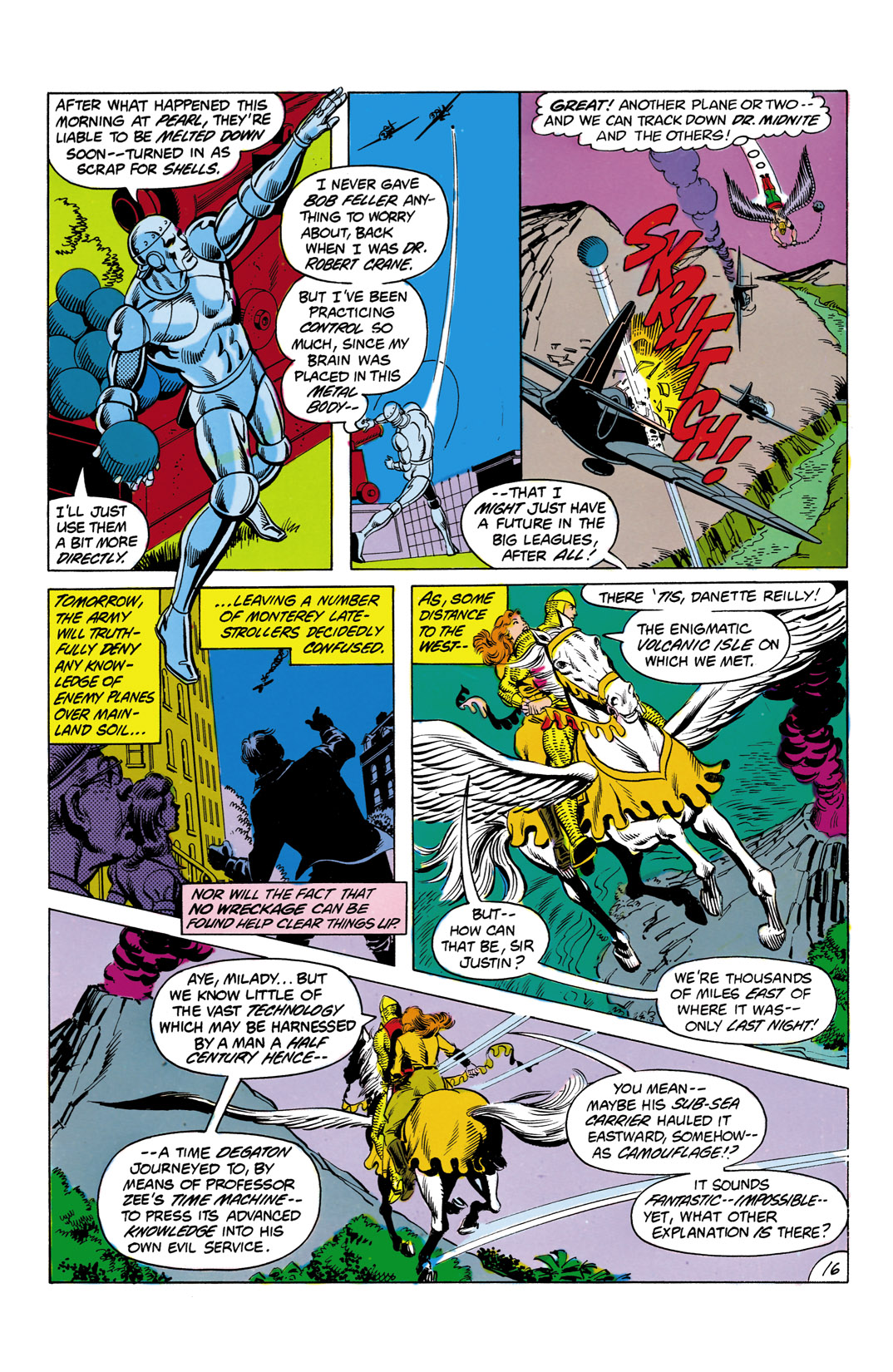 Read online All-Star Squadron comic -  Issue #3 - 17