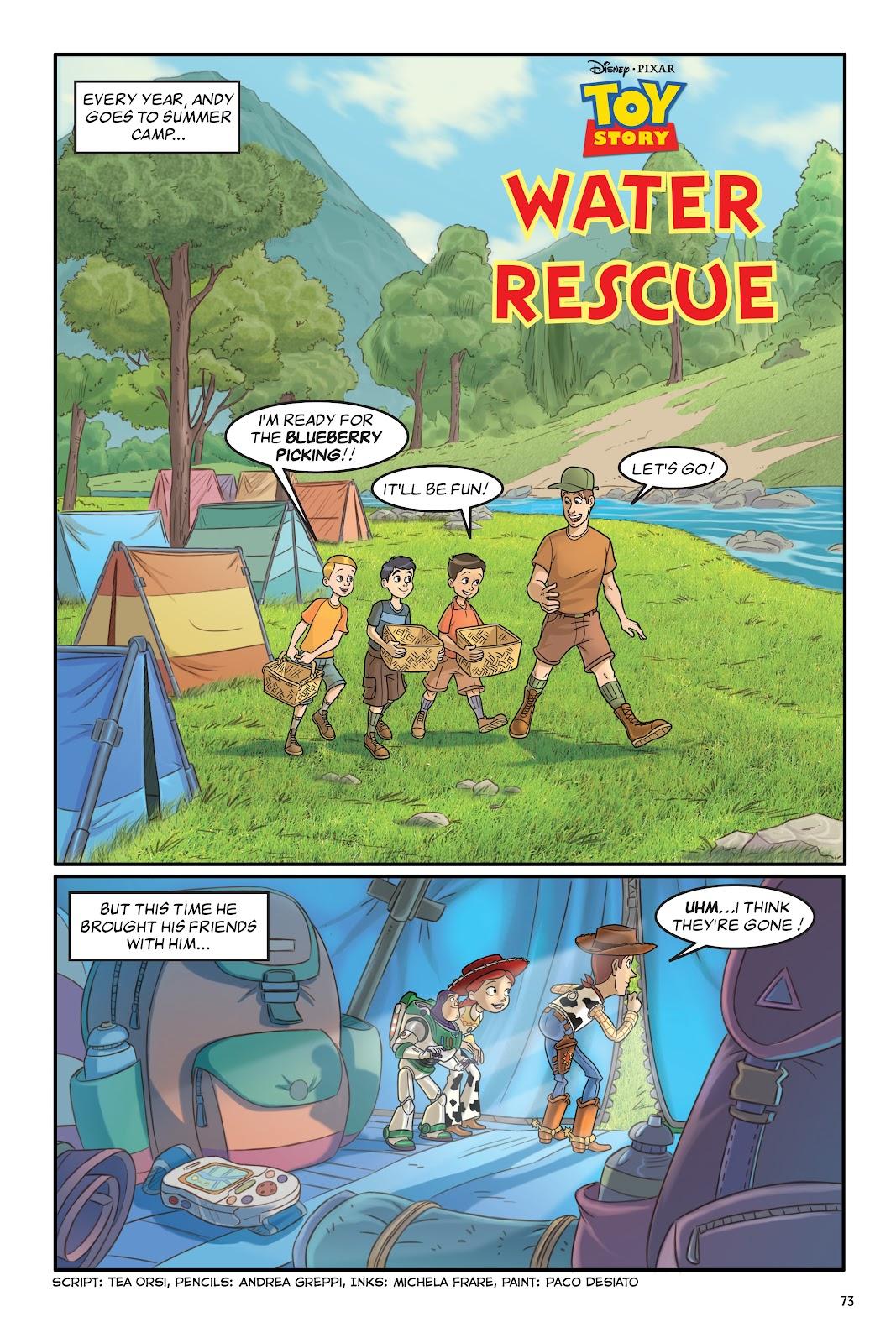 Read online DISNEY·PIXAR Toy Story Adventures comic -  Issue # TPB 1 (Part 1) - 73