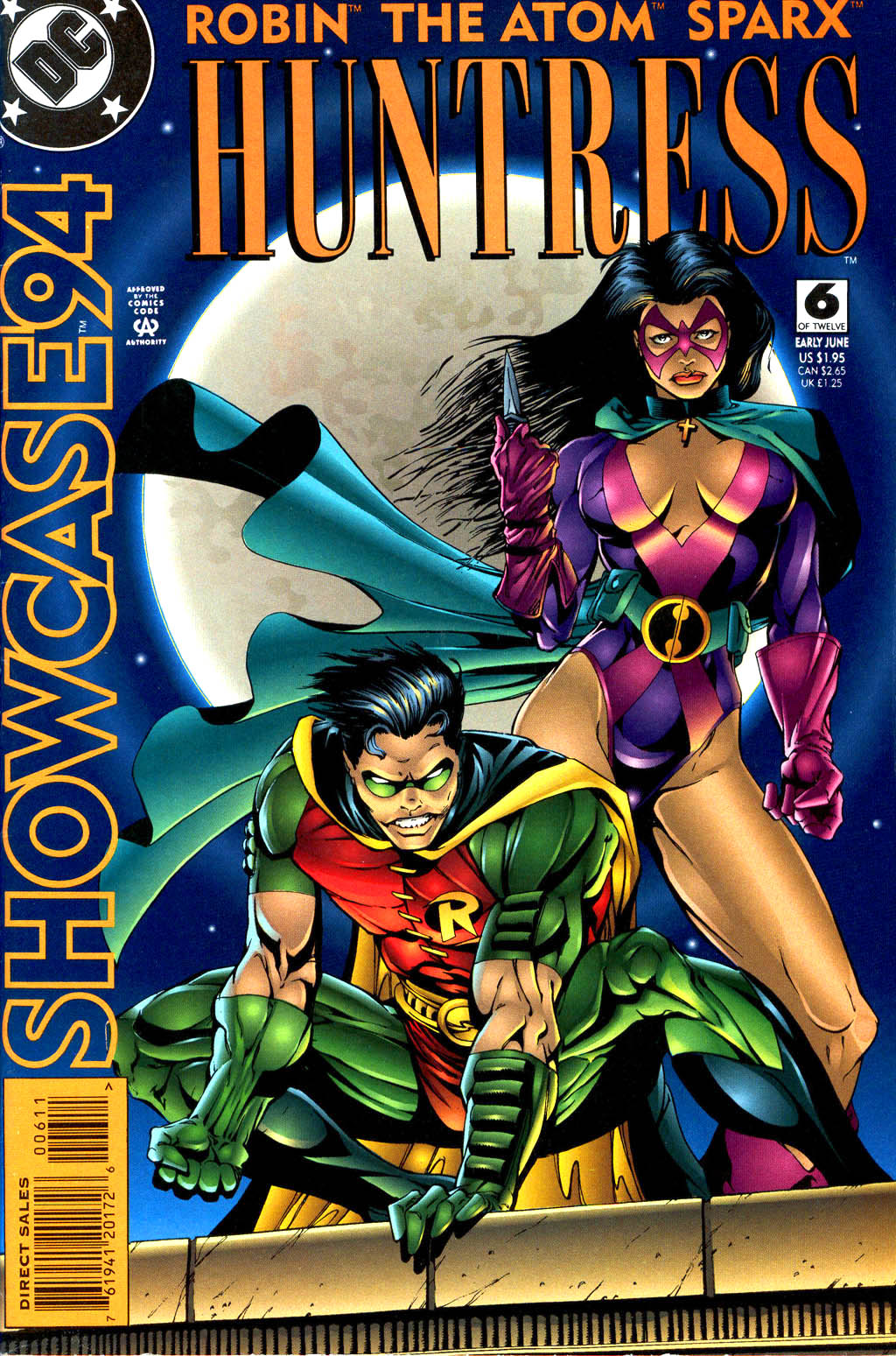 Read online Showcase '94 comic -  Issue #6 - 1