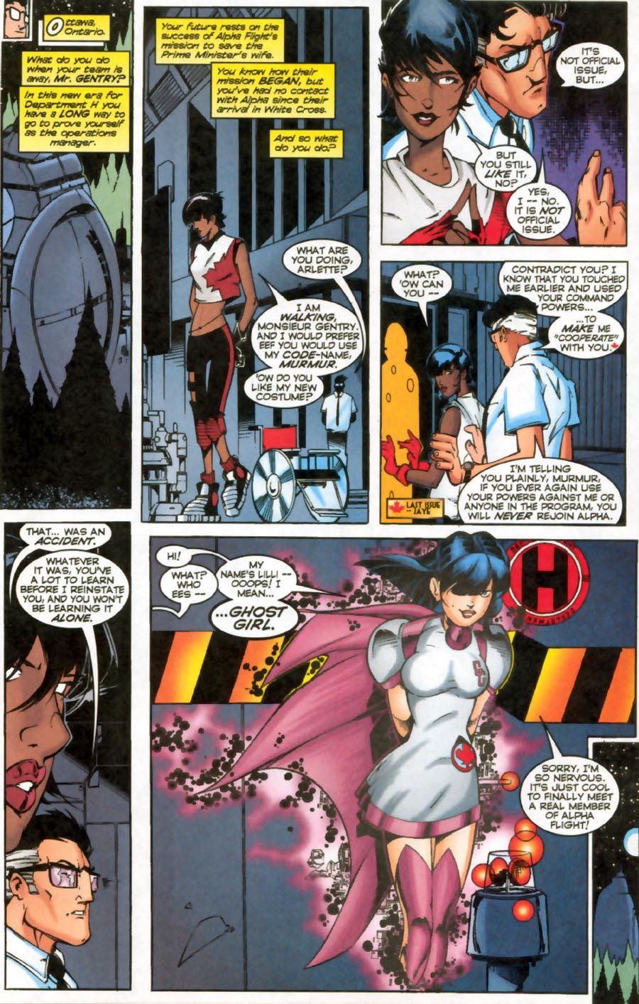 Read online Alpha Flight (1997) comic -  Issue #16 - 11