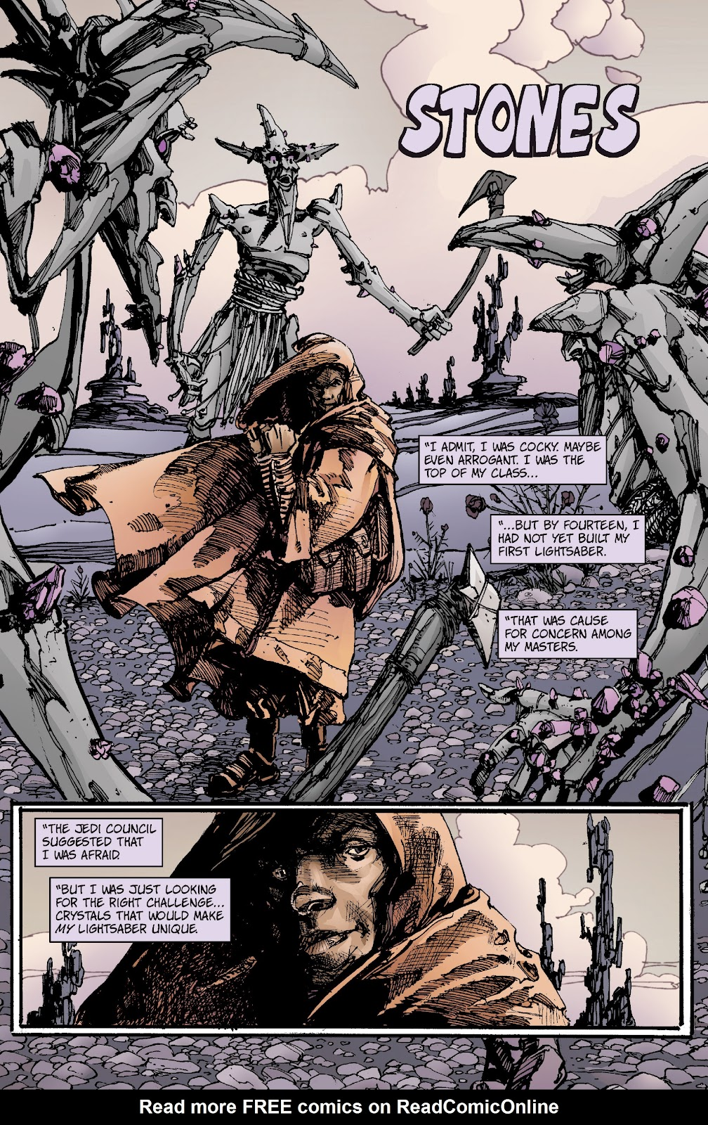 Read online Star Wars Legends: Rise of the Sith - Epic Collection comic -  Issue # TPB 1 (Part 1) - 8