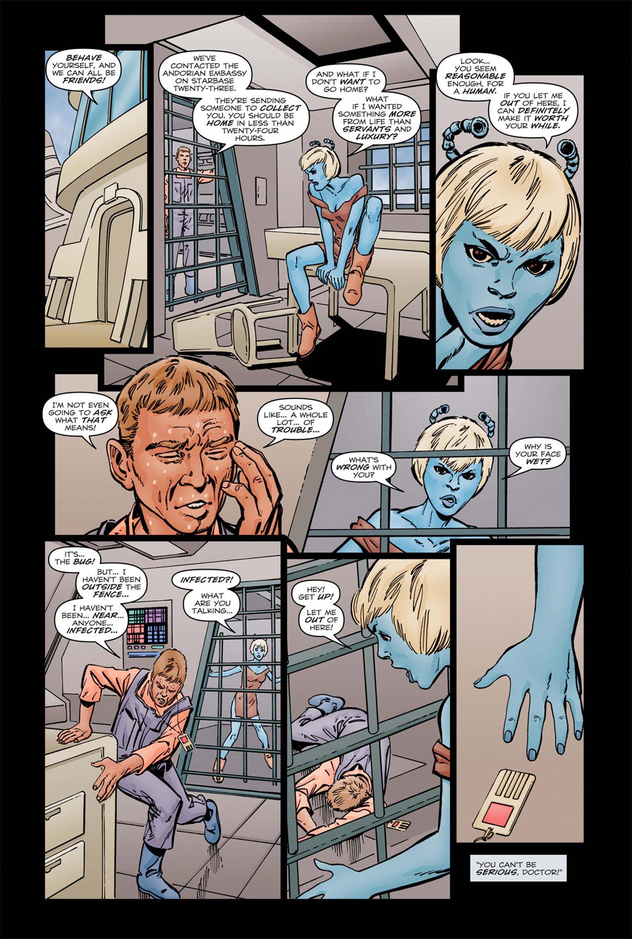 Read online Star Trek: Leonard McCoy, Frontier Doctor comic -  Issue #1 - 16
