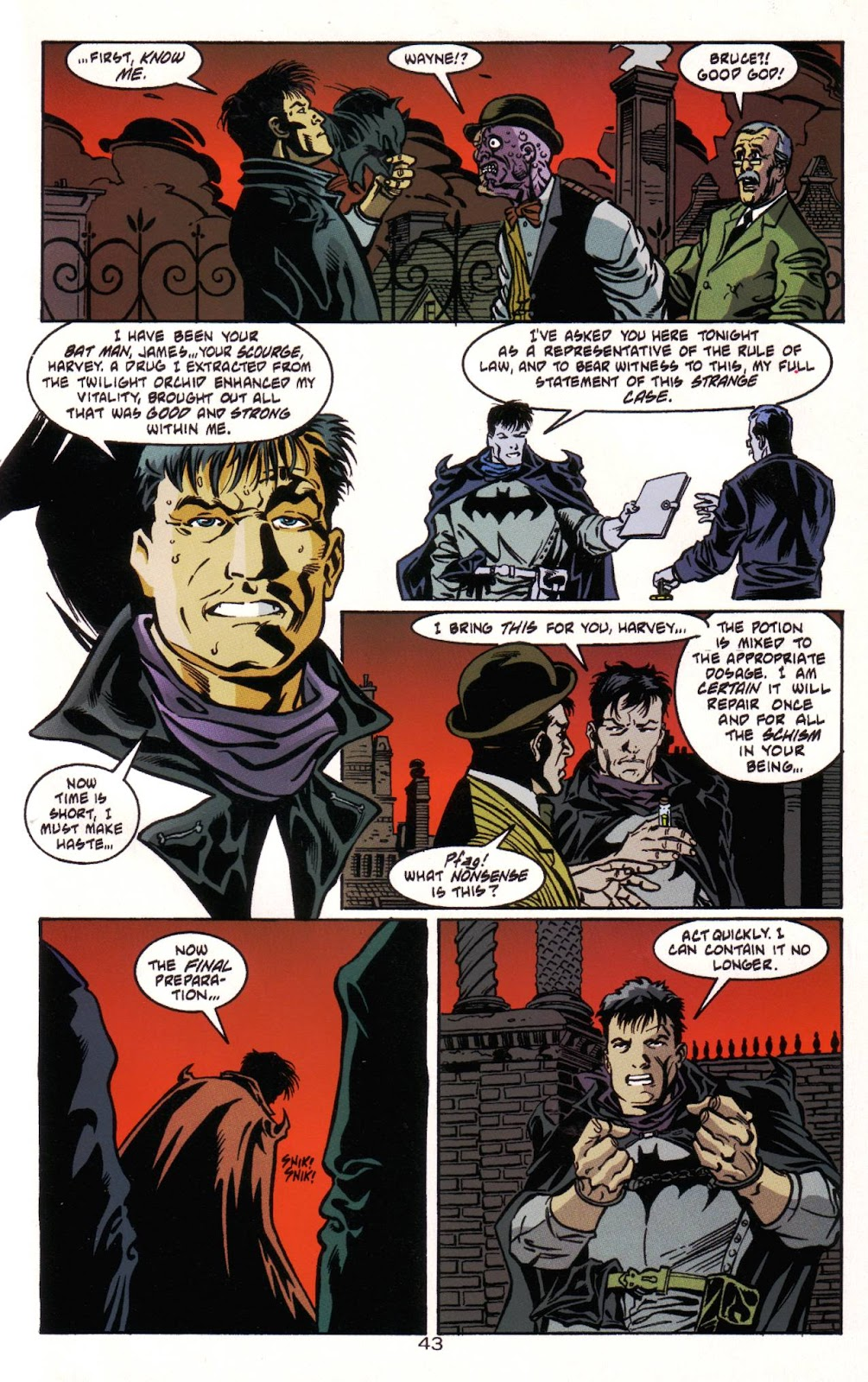 Batman: Two Faces issue Full - Page 44