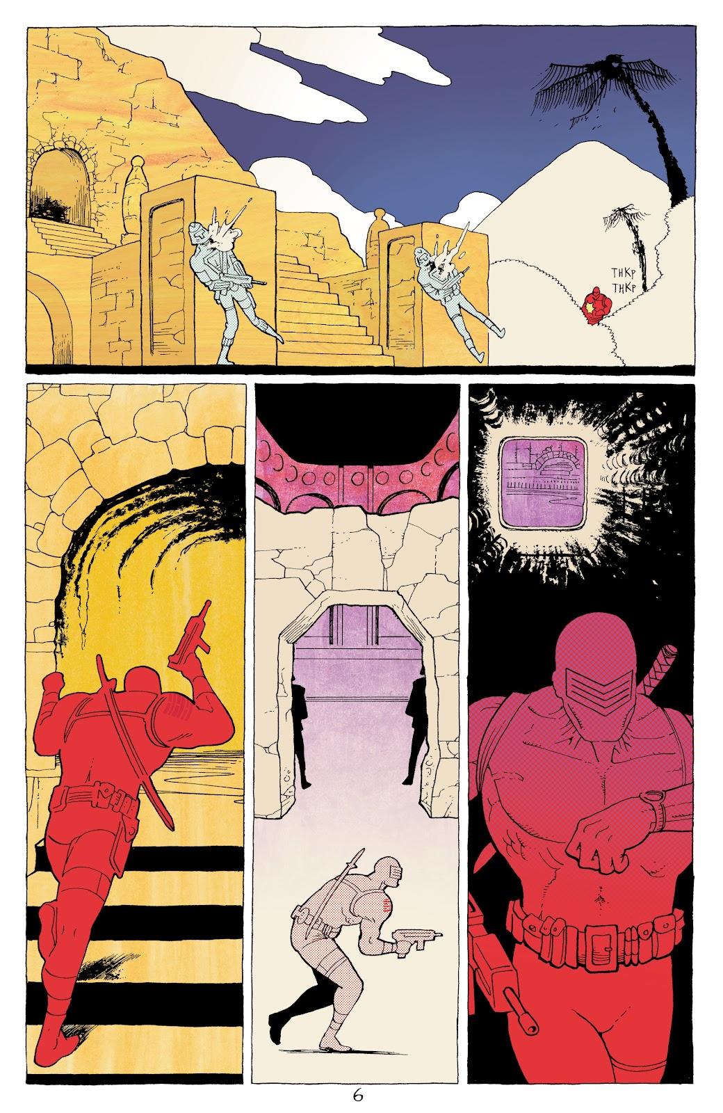 Read online G.I. Joe: Sierra Muerte comic -  Issue #3 - 8
