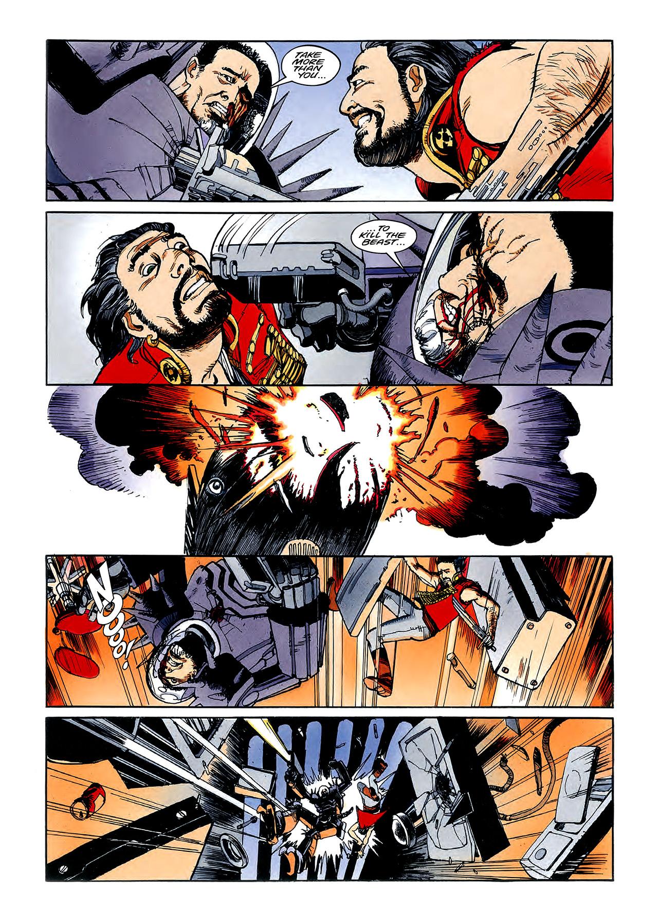 Read online Nikolai Dante comic -  Issue # TPB 3 - 123