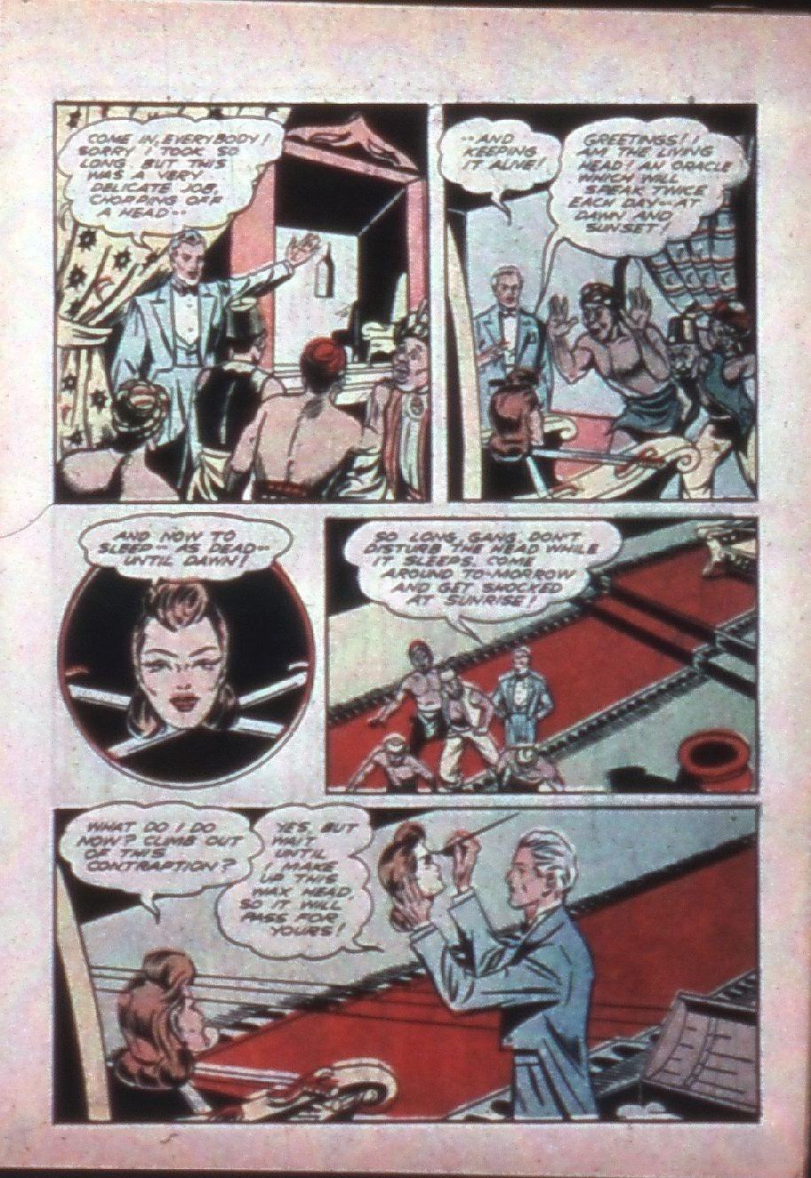 Read online Super-Magician Comics comic -  Issue #7 - 11