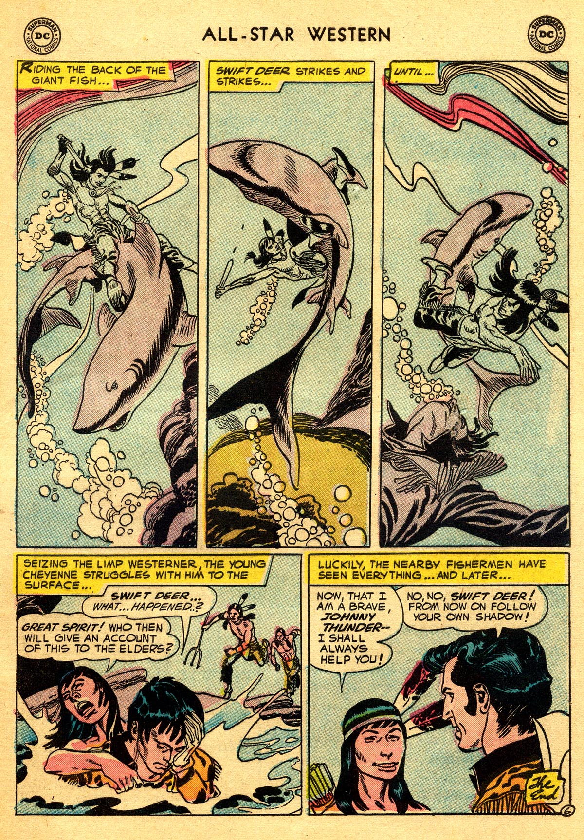 Read online All-Star Western (1951) comic -  Issue #93 - 33