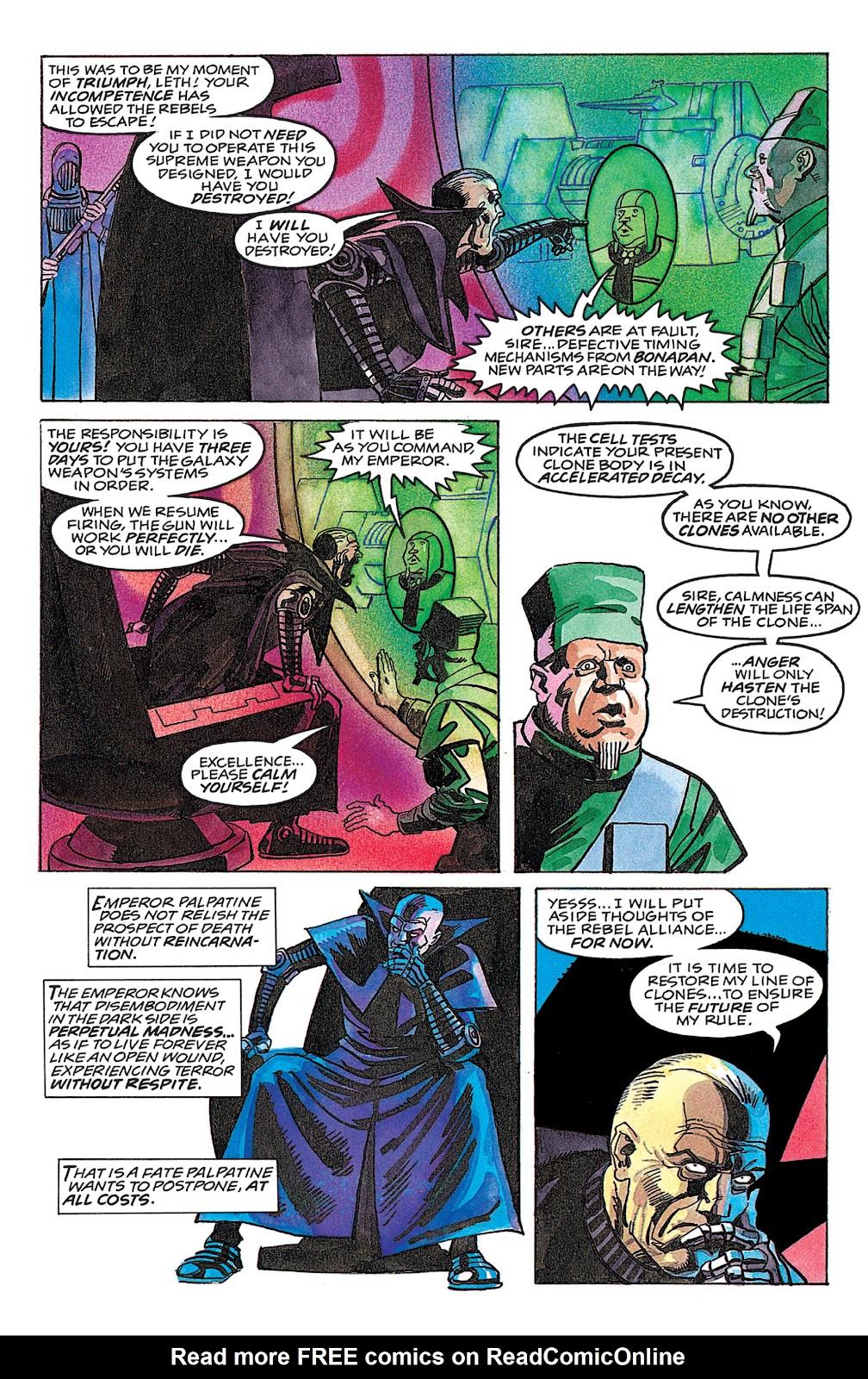 Read online Star Wars: Dark Empire Trilogy comic -  Issue # TPB (Part 4) - 23
