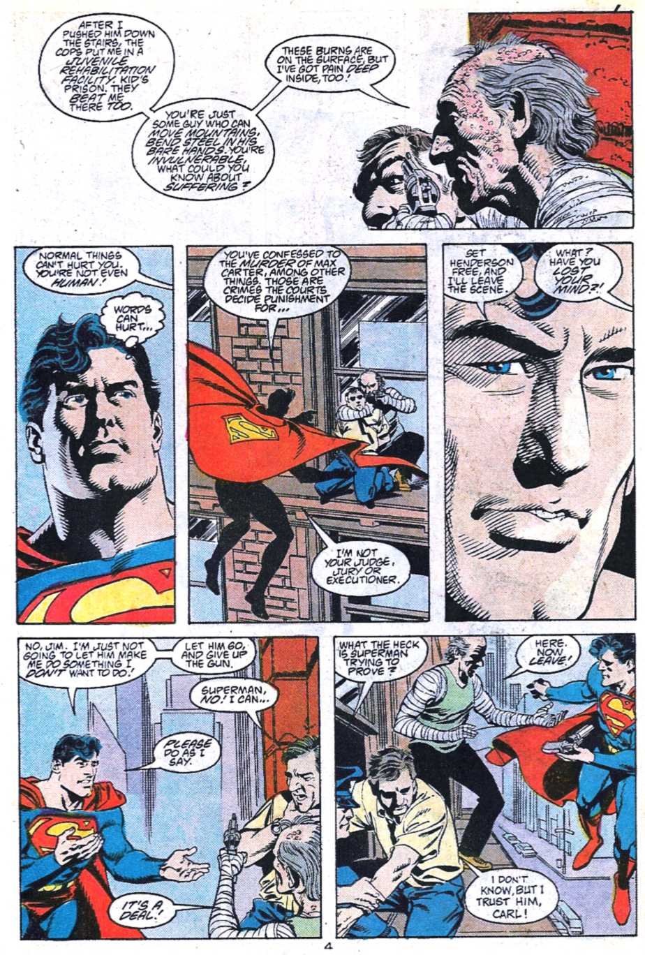 Read online Adventures of Superman (1987) comic -  Issue #448 - 5