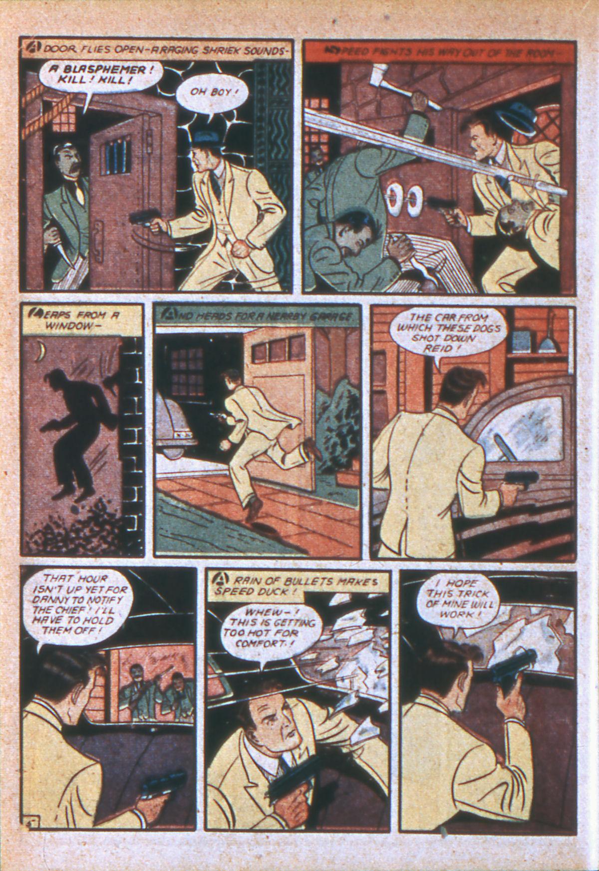 Read online Detective Comics (1937) comic -  Issue #39 - 41