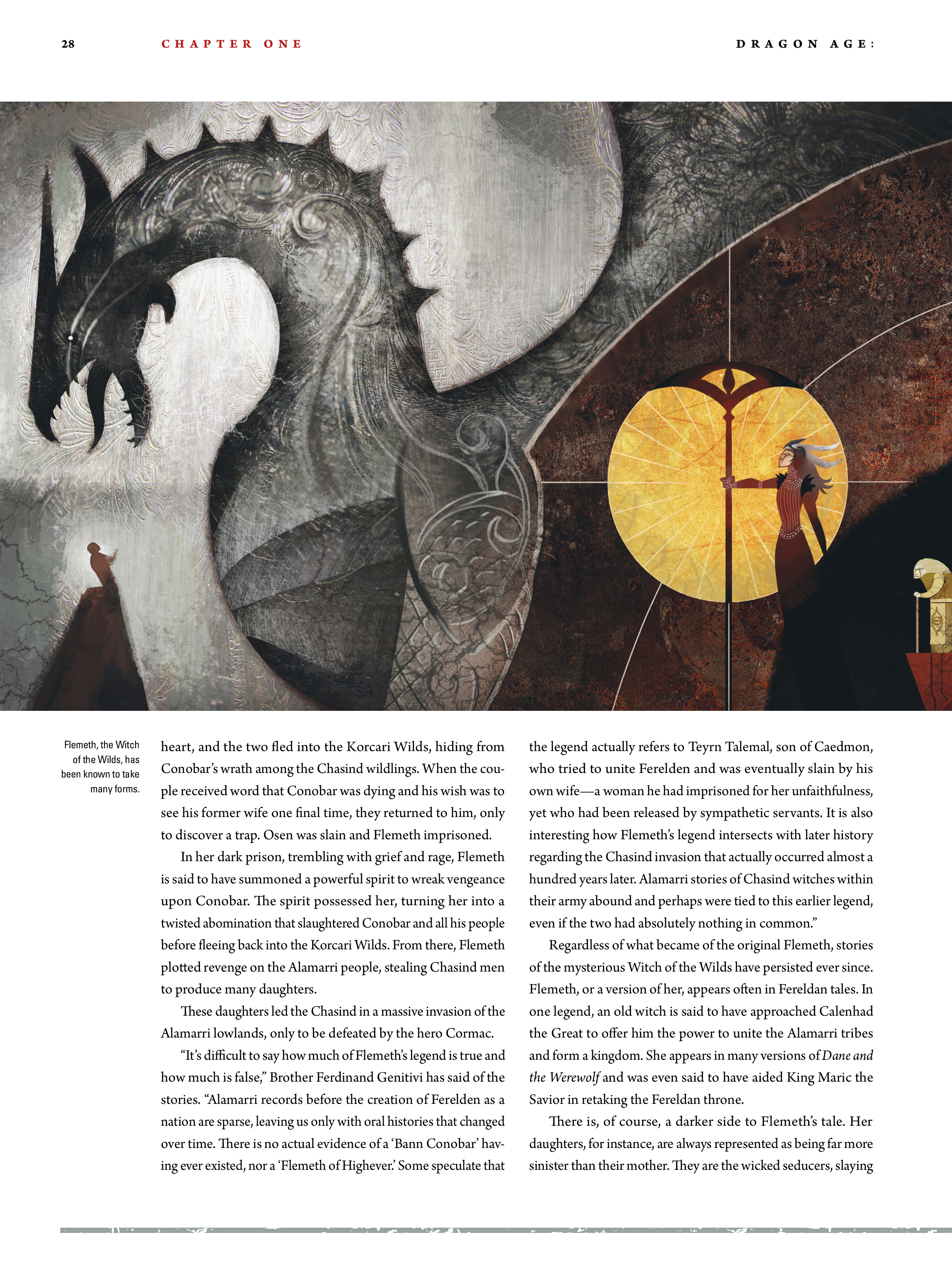 Read online Dragon Age: The World of Thedas comic -  Issue # TPB 2 - 25