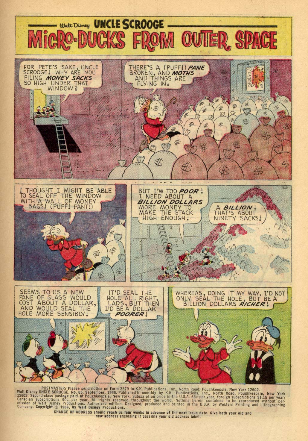 Read online Uncle Scrooge (1953) comic -  Issue #65 - 3