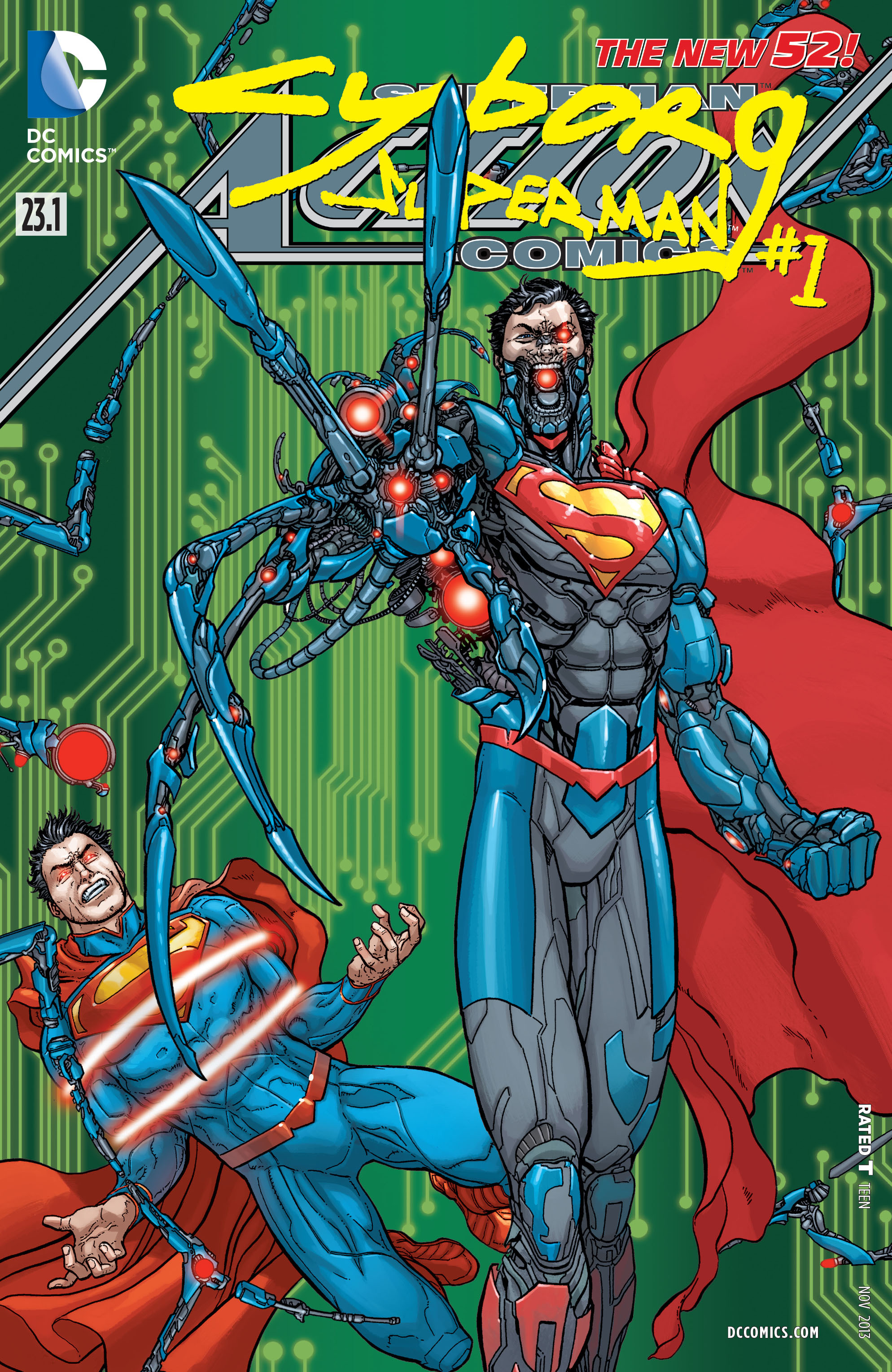 Read online Action Comics (2011) comic -  Issue #23.1 - 1