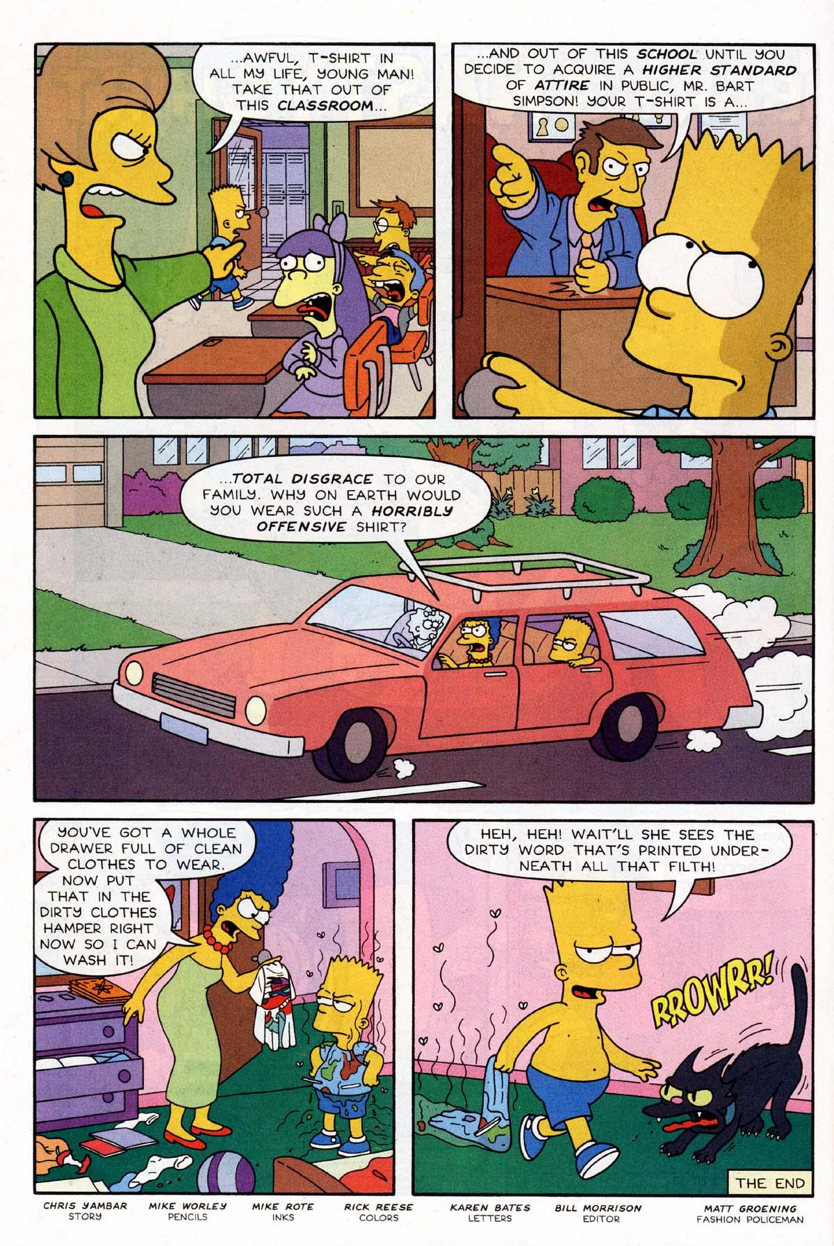 Read online Simpsons Comics Presents Bart Simpson comic -  Issue #9 - 15