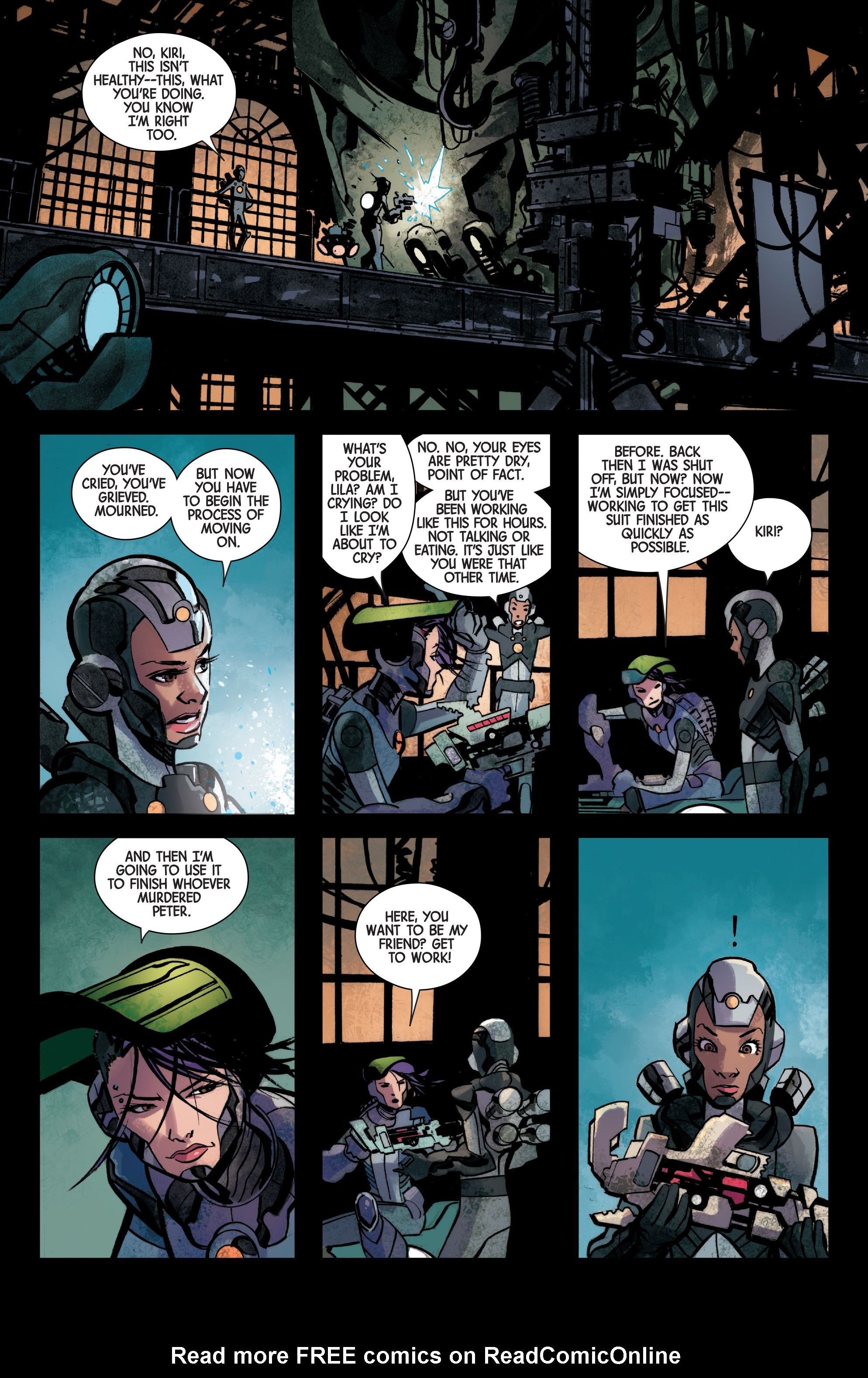 Read online Armor Wars comic -  Issue #3 - 17