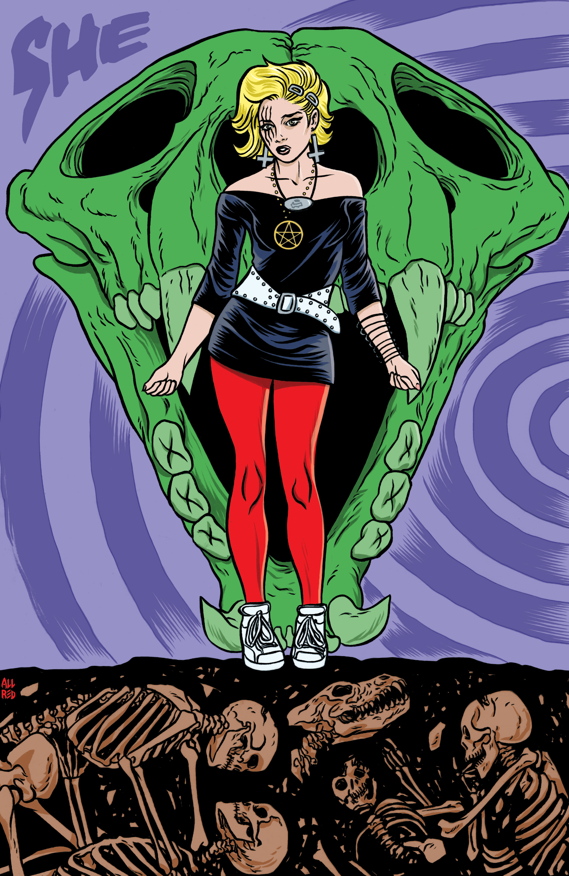 Read online She Wolf comic -  Issue #5 - 19