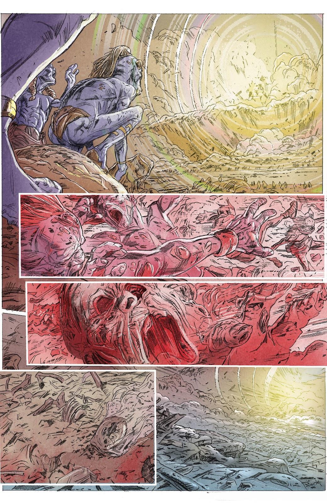 Read online X-O Manowar (2017) comic -  Issue #23 - 27