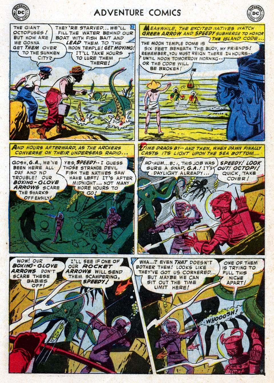 Read online Adventure Comics (1938) comic -  Issue #211 - 31