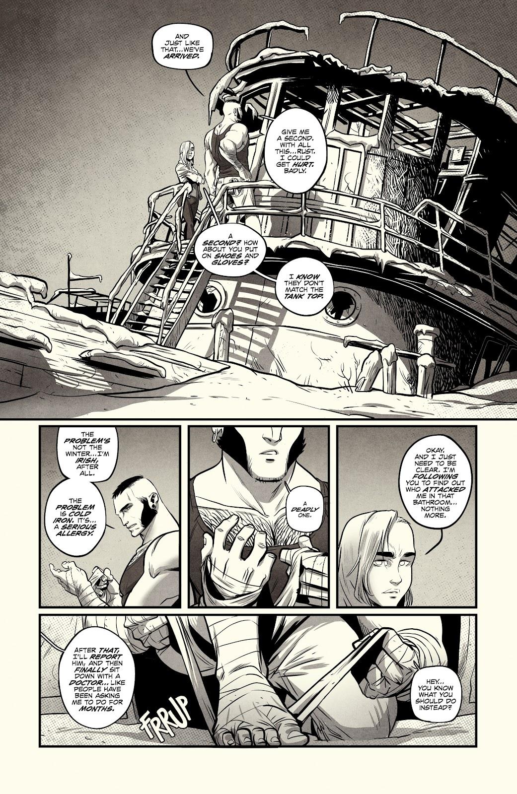 Read online Nomen Omen comic -  Issue #3 - 13