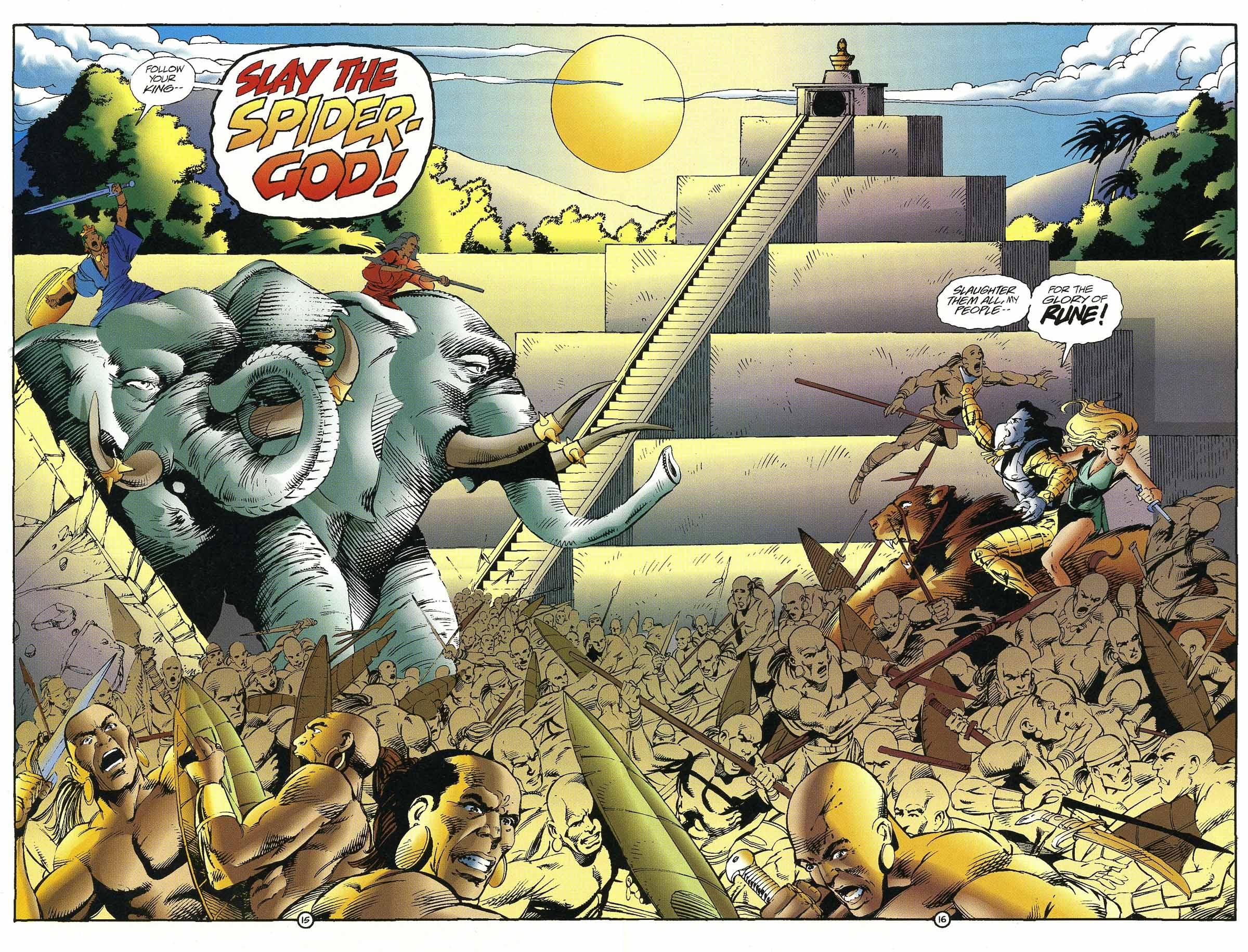 Read online Rune (1994) comic -  Issue #7 - 17