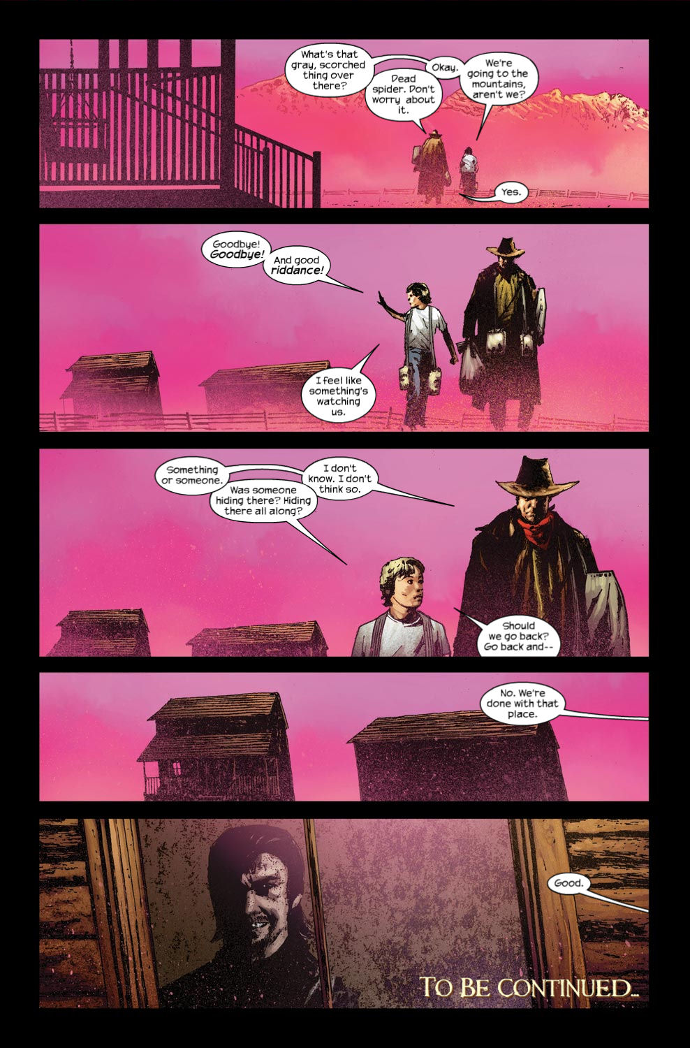 Read online Dark Tower: The Gunslinger - The Way Station comic -  Issue #3 - 23