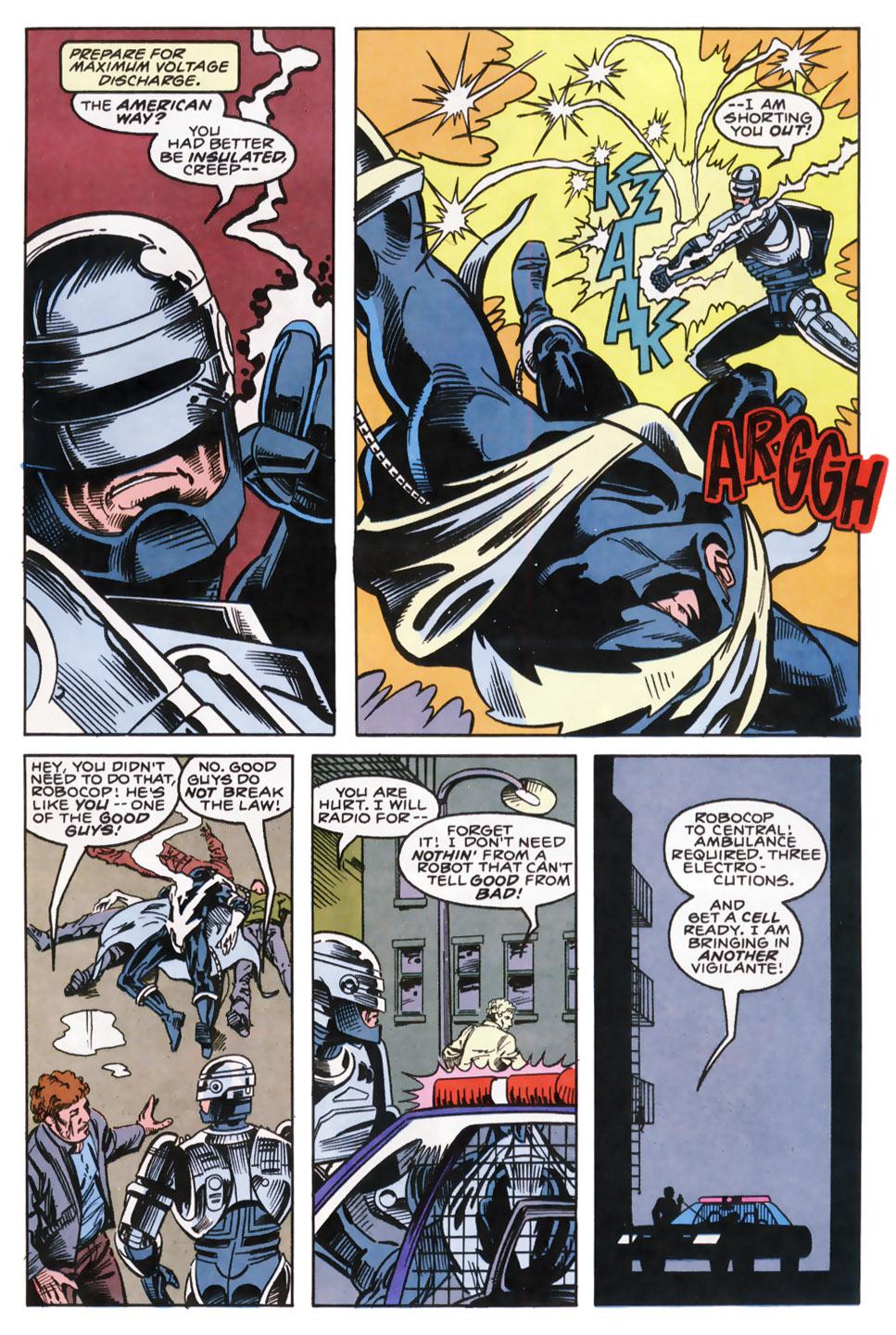 Read online Robocop (1990) comic -  Issue #9 - 6