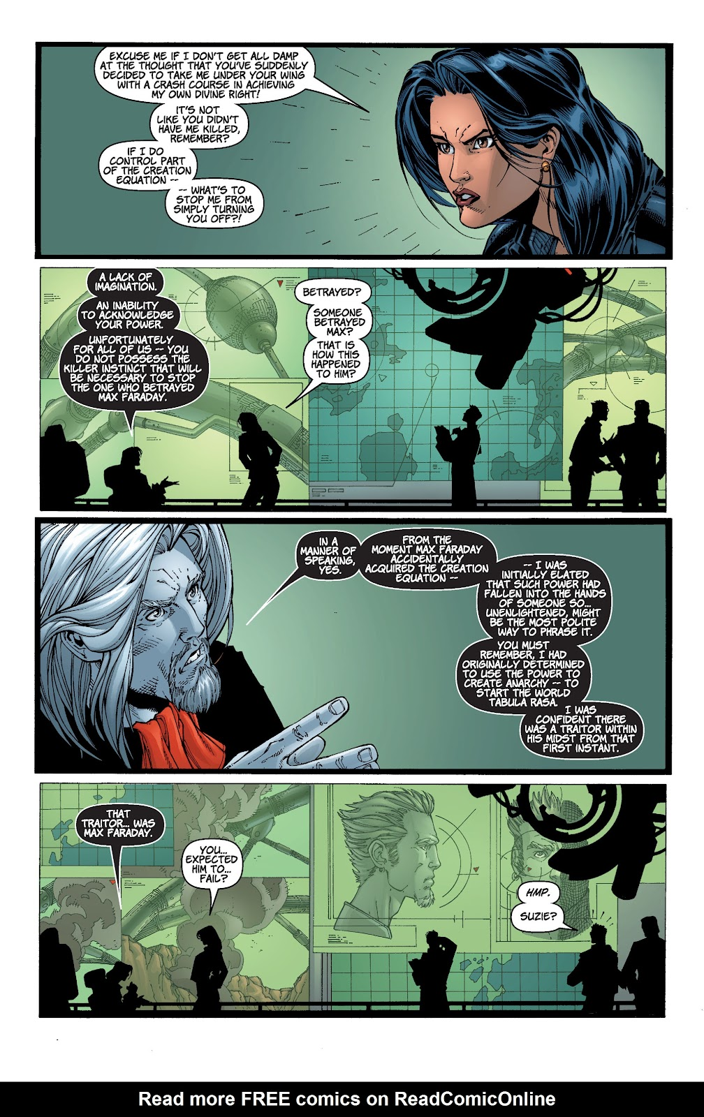 Read online Divine Right comic -  Issue # _TPB The Adventures of Max Faraday (Part 4) - 15