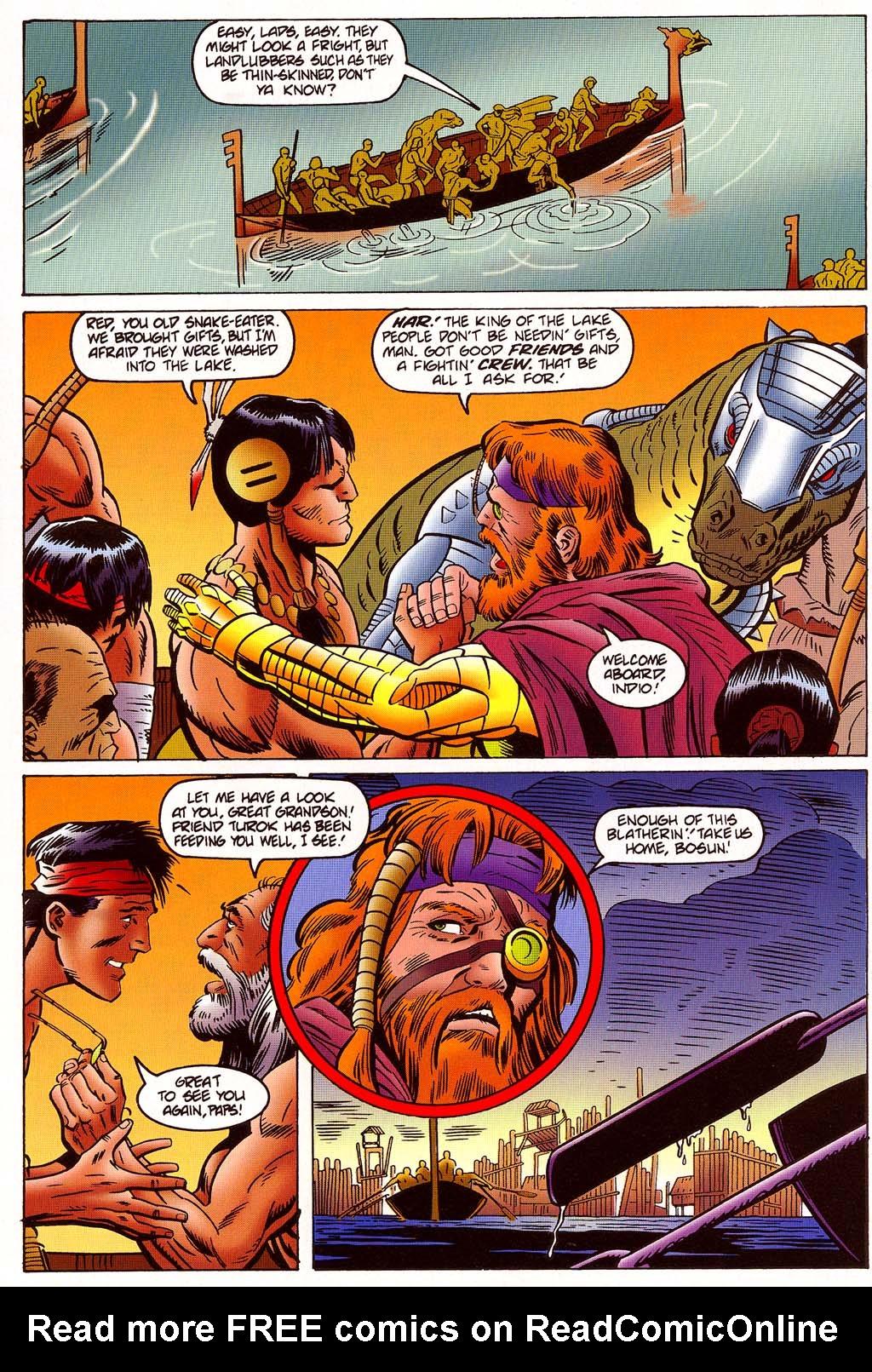 Read online Turok, Dinosaur Hunter (1993) comic -  Issue #45 - 15