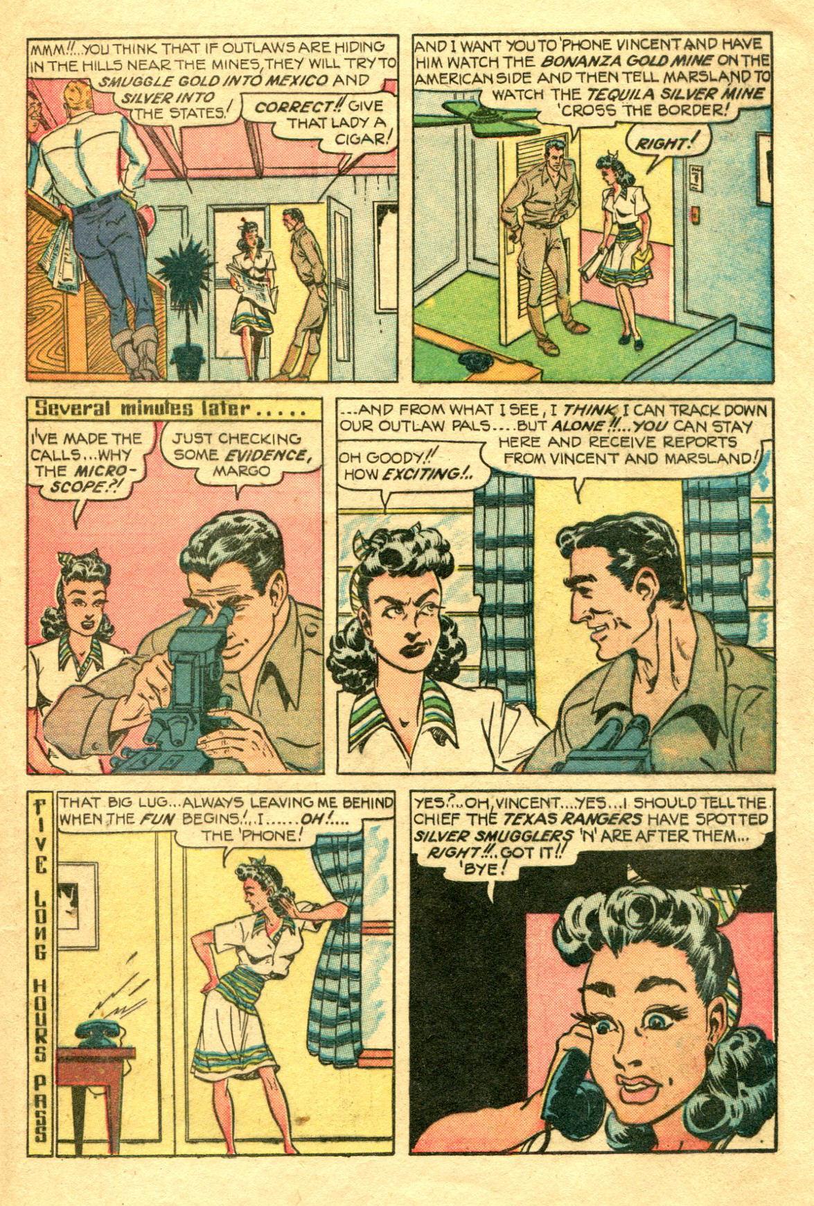 Read online Shadow Comics comic -  Issue #75 - 10