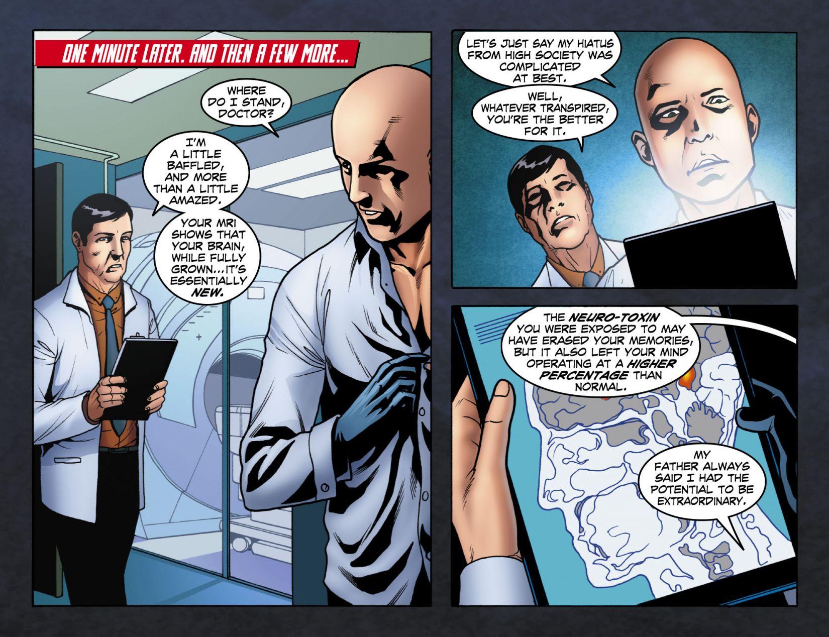 Read online Smallville: Season 11 comic -  Issue #4 - 4