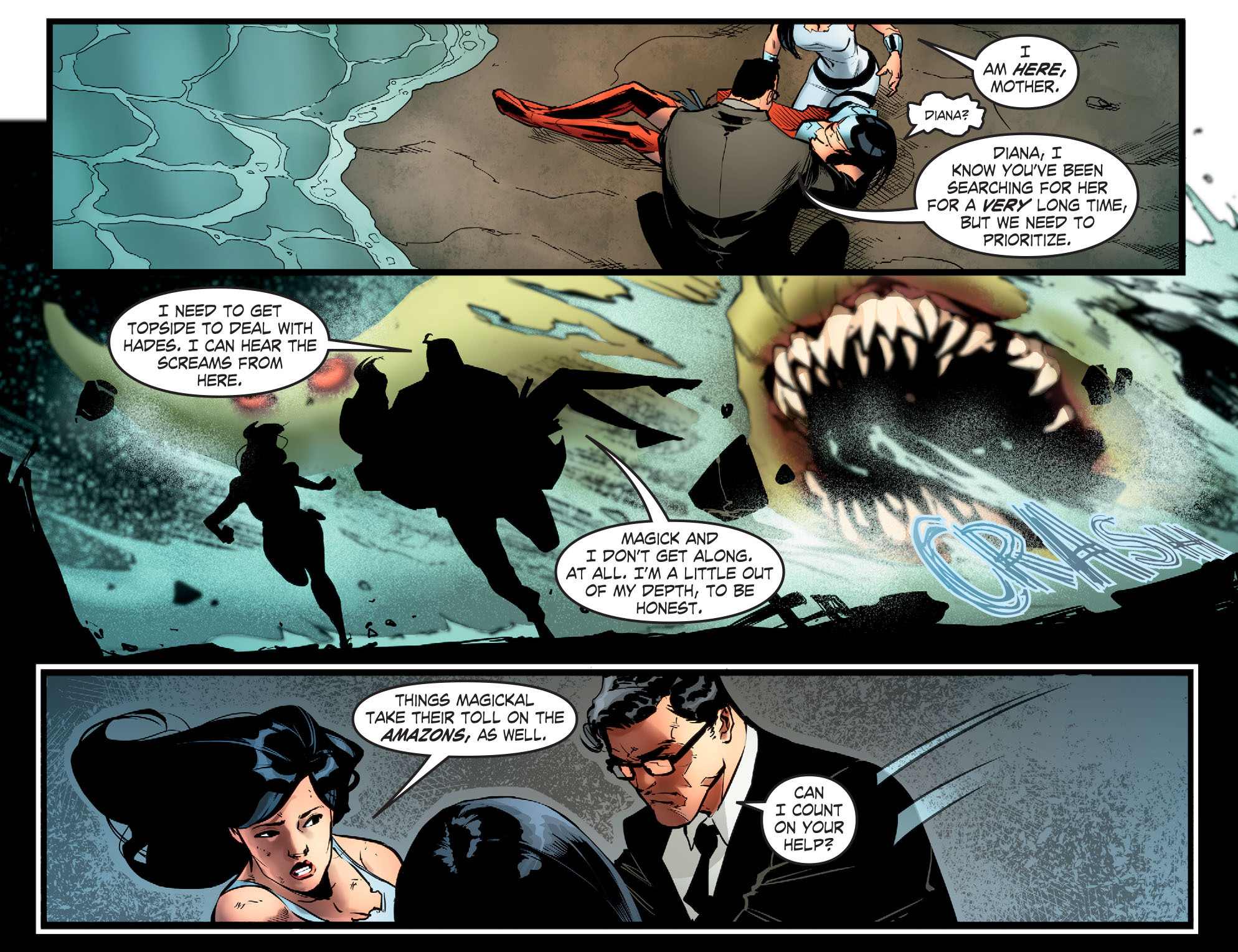 Read online Smallville: Season 11 comic -  Issue #65 - 19