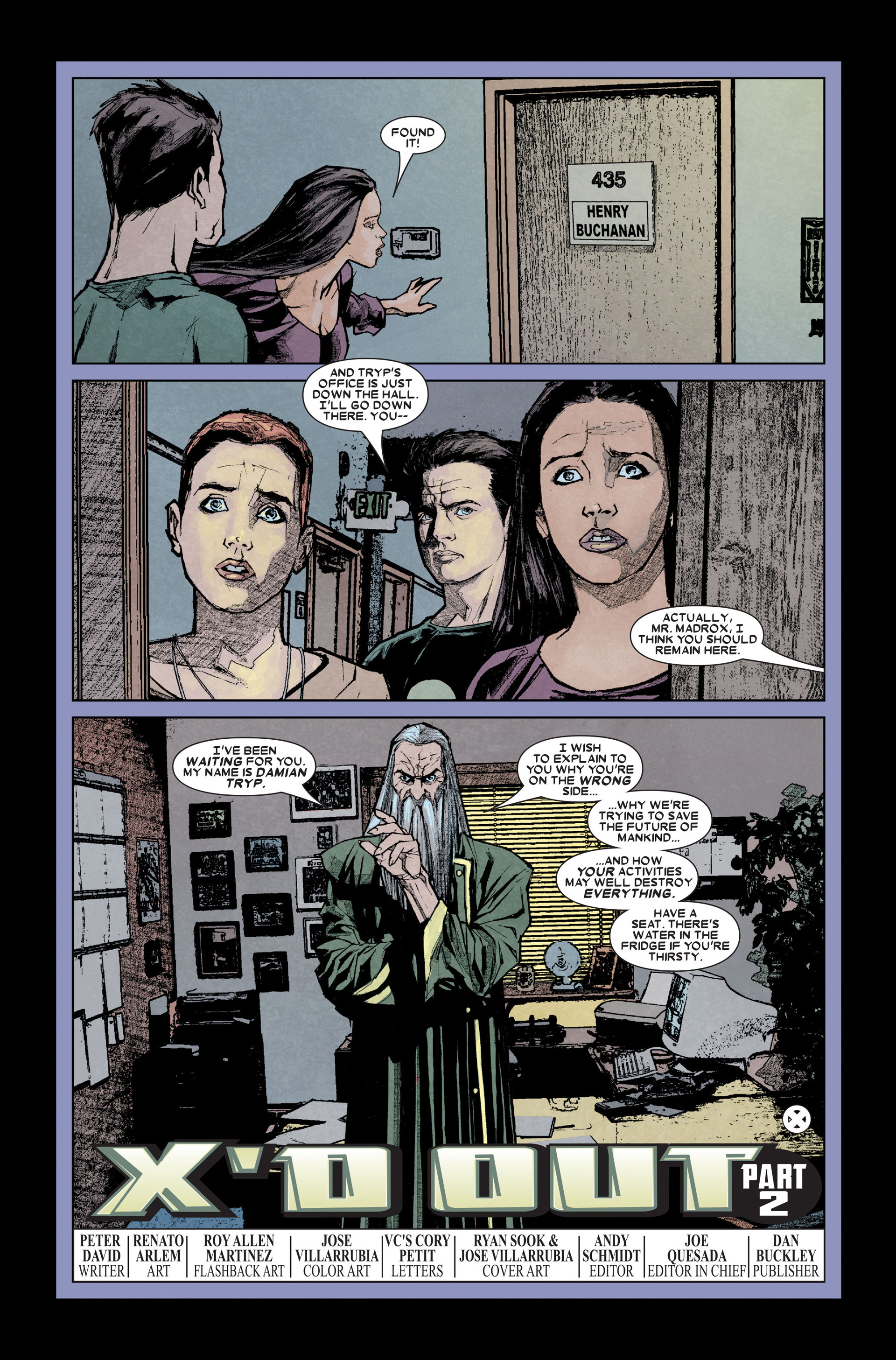 Read online X-Factor (2006) comic -  Issue #11 - 23