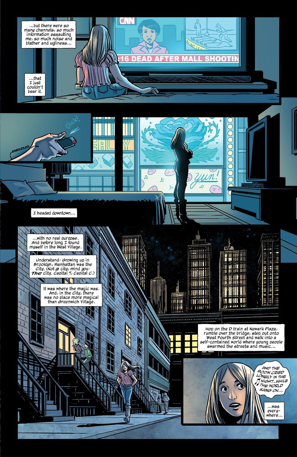 Read online The Girl In The Bay comic -  Issue #2 - 11
