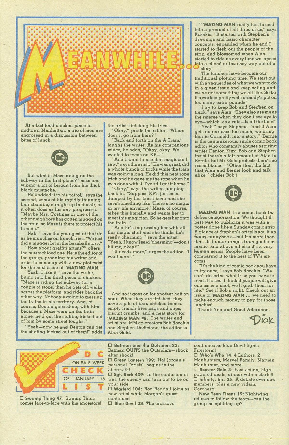 Read online Sgt. Rock comic -  Issue #409 - 23