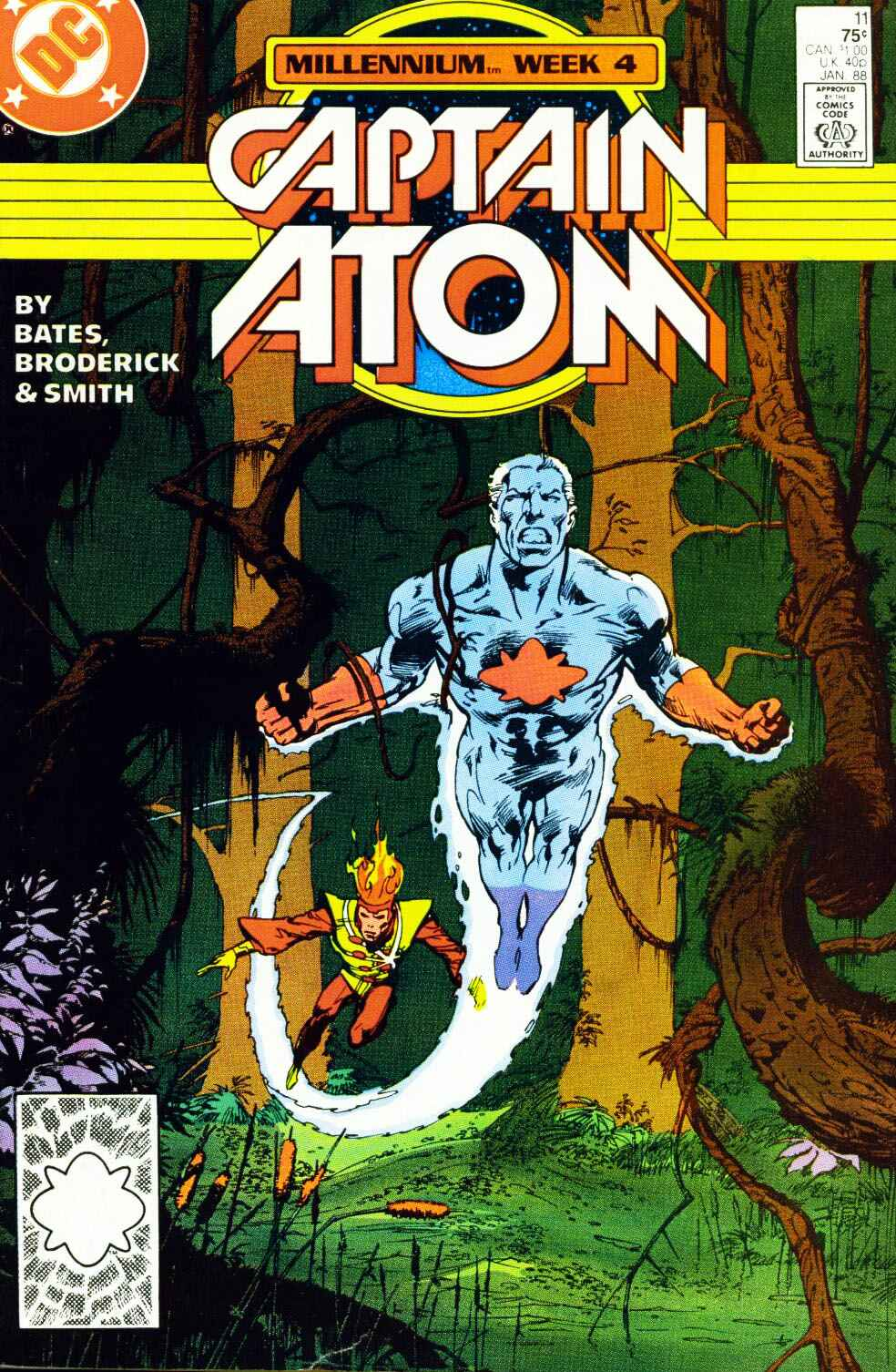 Captain Atom (1987) 11 Page 1