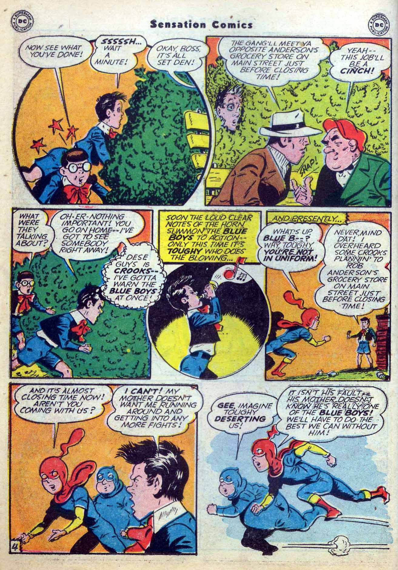 Read online Sensation (Mystery) Comics comic -  Issue #59 - 20