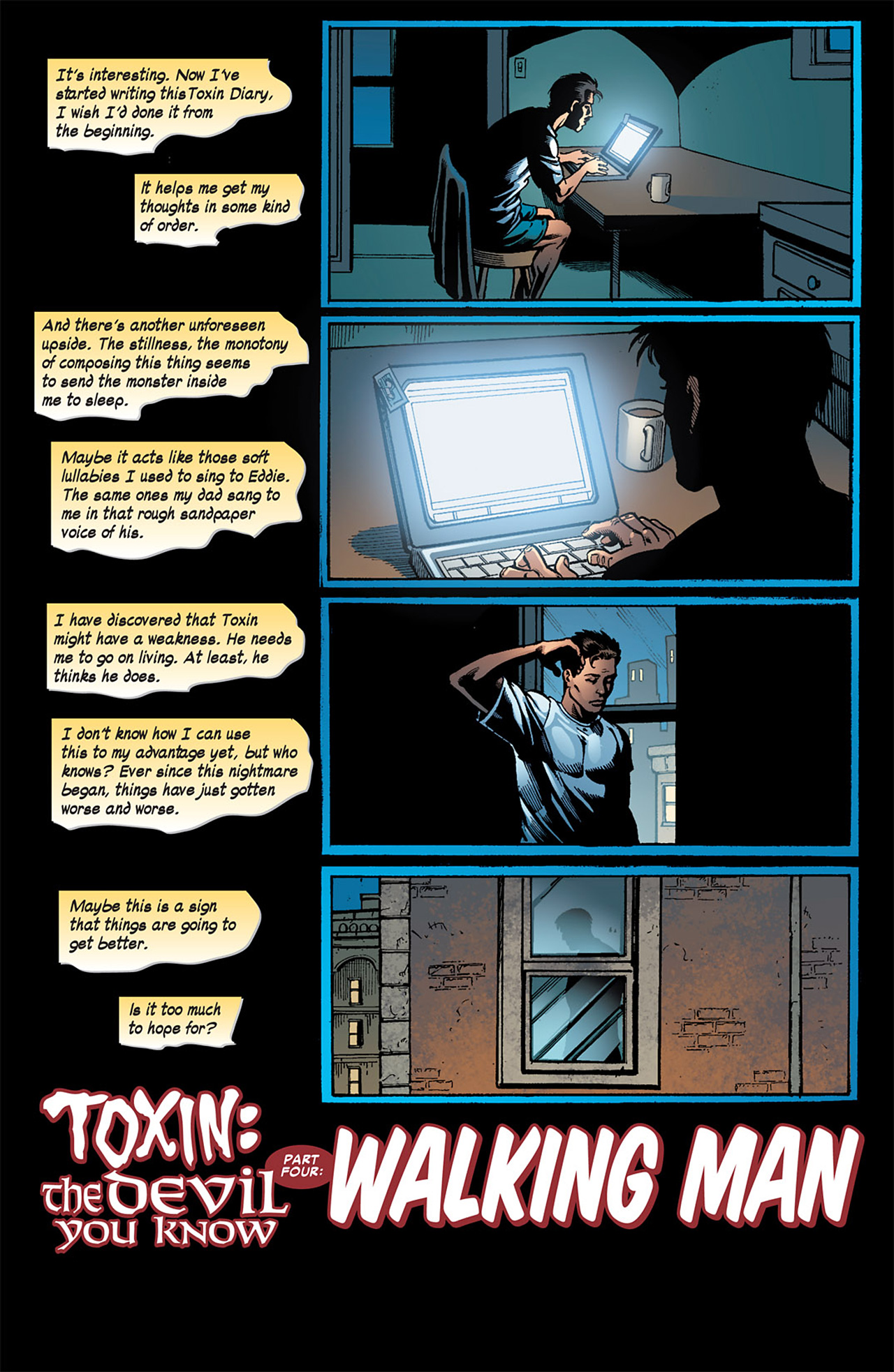 Read online Toxin comic -  Issue #4 - 6