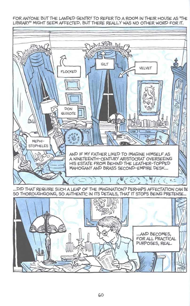 Read online Fun Home: A Family Tragicomic comic -  Issue # TPB - 67