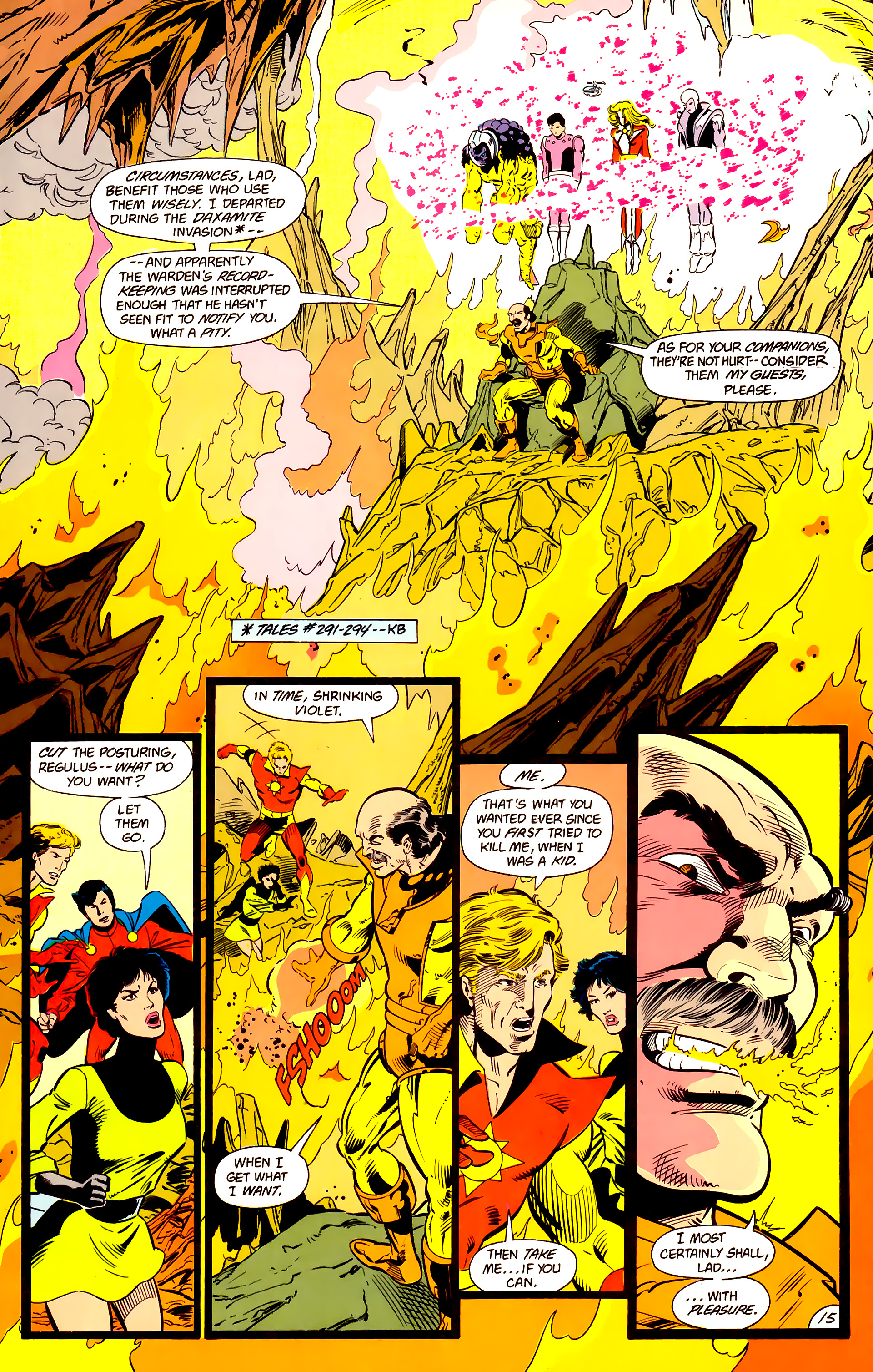 Legion of Super-Heroes (1984) 15 Page 16
