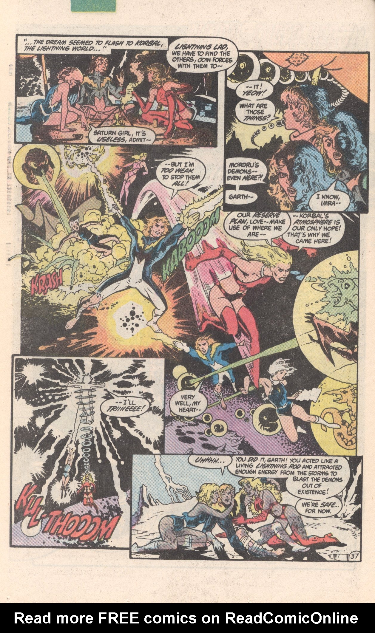 Legion of Super-Heroes (1980) 300 Page 37
