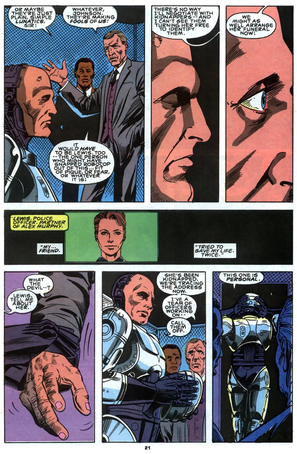 Read online Robocop (1990) comic -  Issue #2 - 17