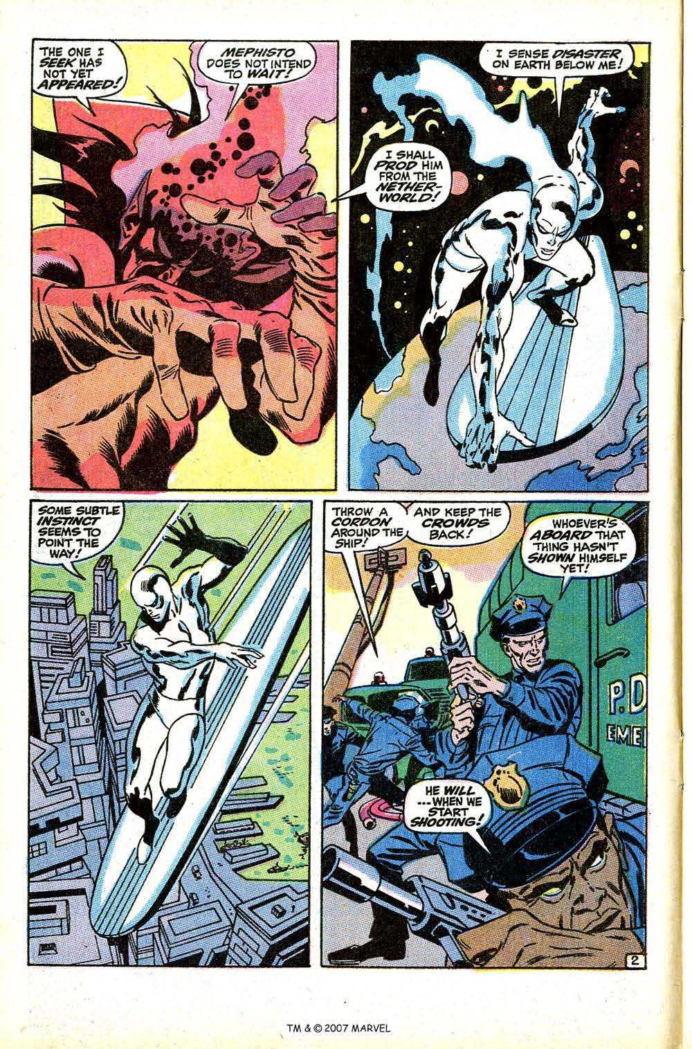 Silver Surfer (1968) Issue #9 #9 - English 4