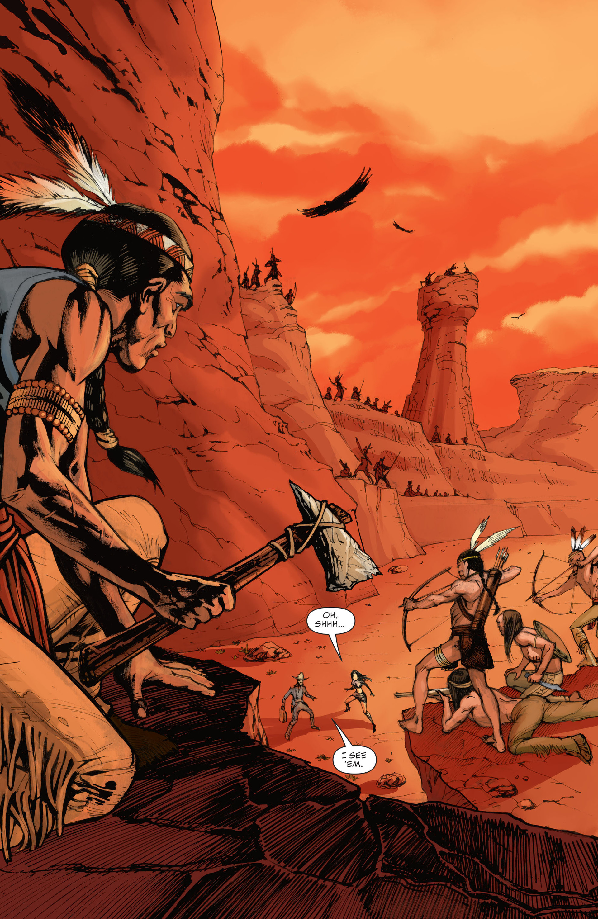 Read online All-Star Western (2011) comic -  Issue #28 - 20