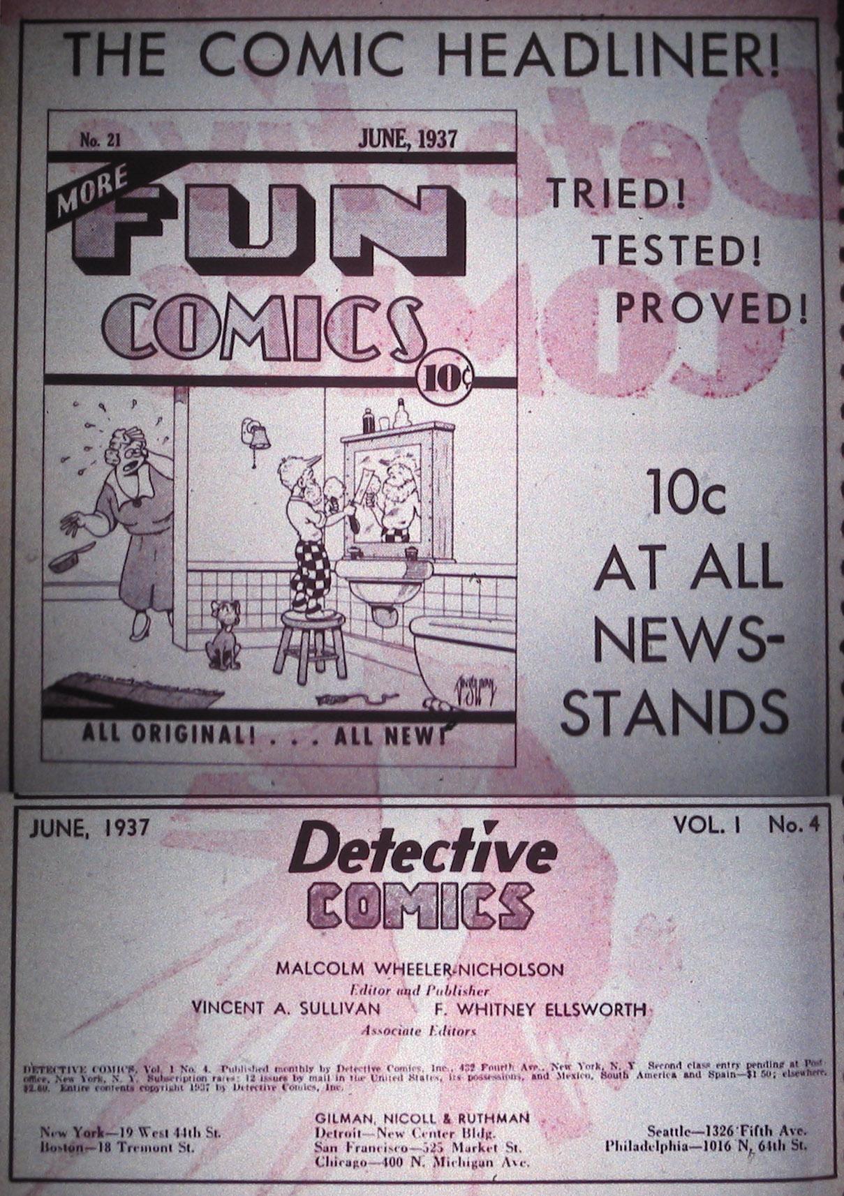 Detective Comics (1937) 4 Page 1