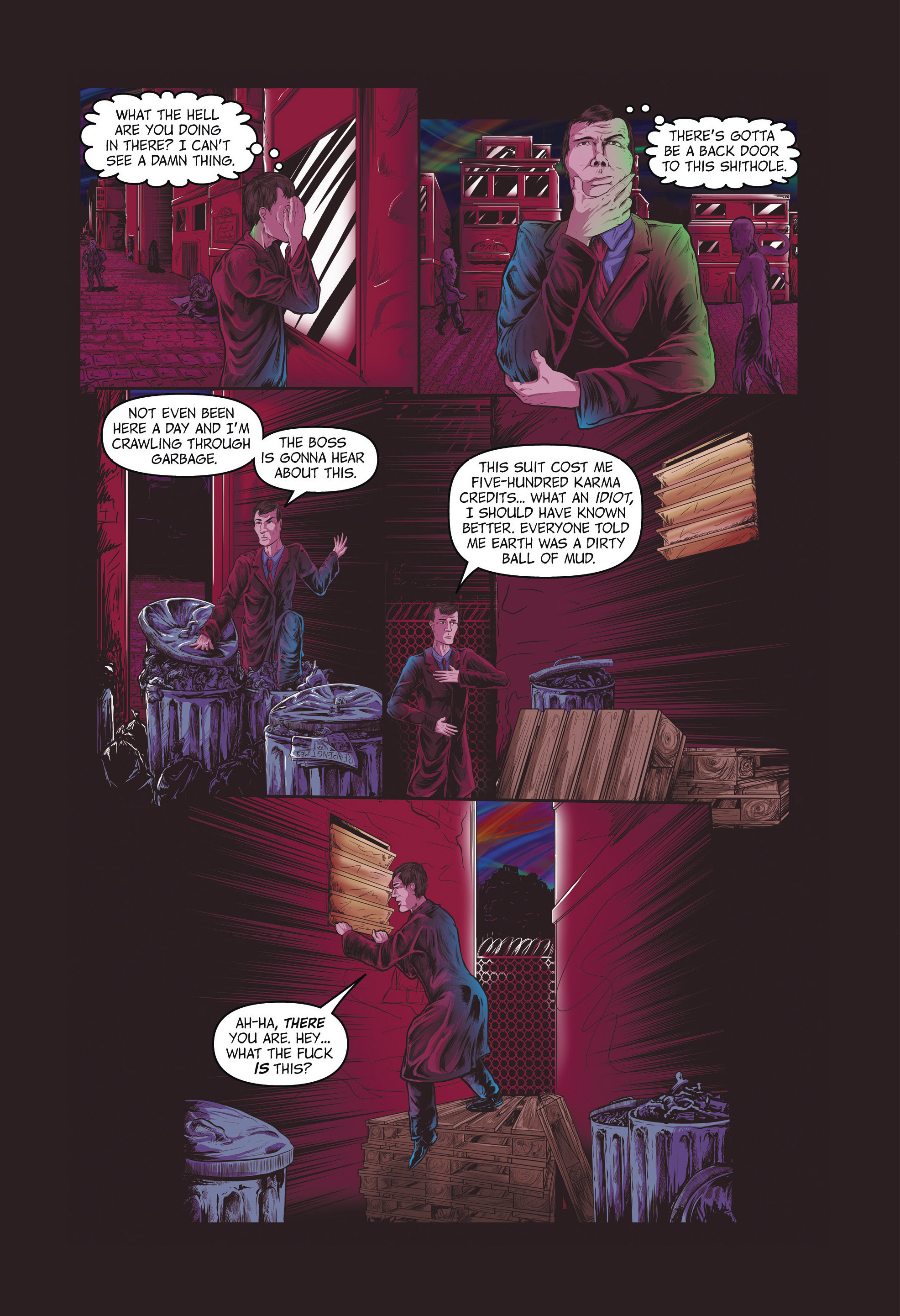 Read online Redemption Heights comic -  Issue # Full - 39