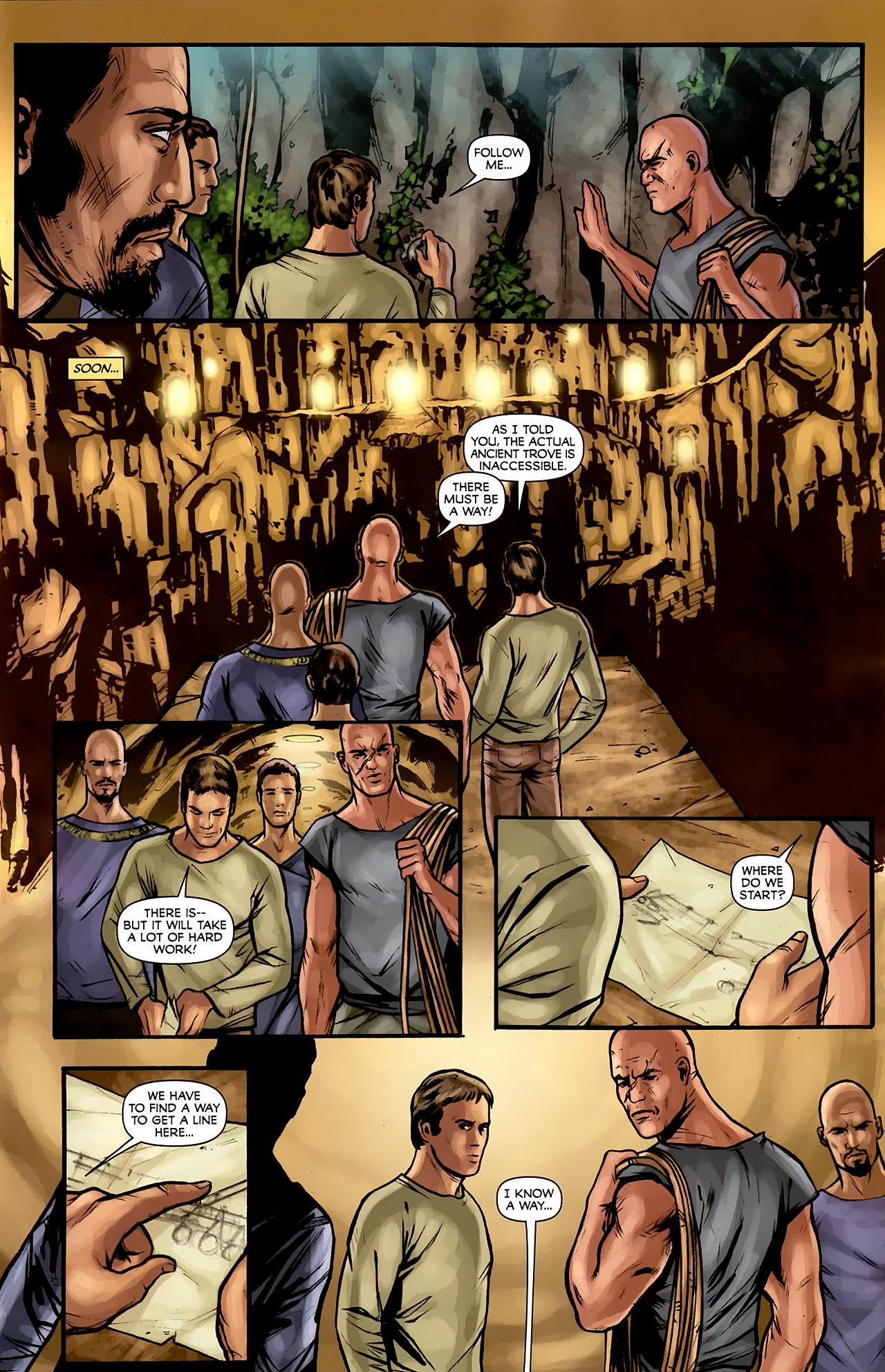 Read online Stargate: Daniel Jackson comic -  Issue #3 - 7